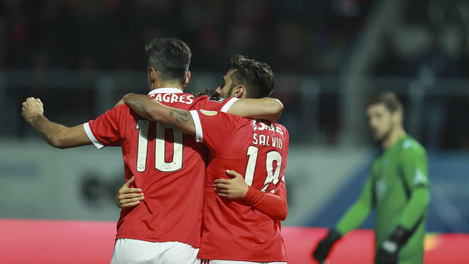 Benfica confirma o ditado: Não há mesmo fome que não dê em fartura