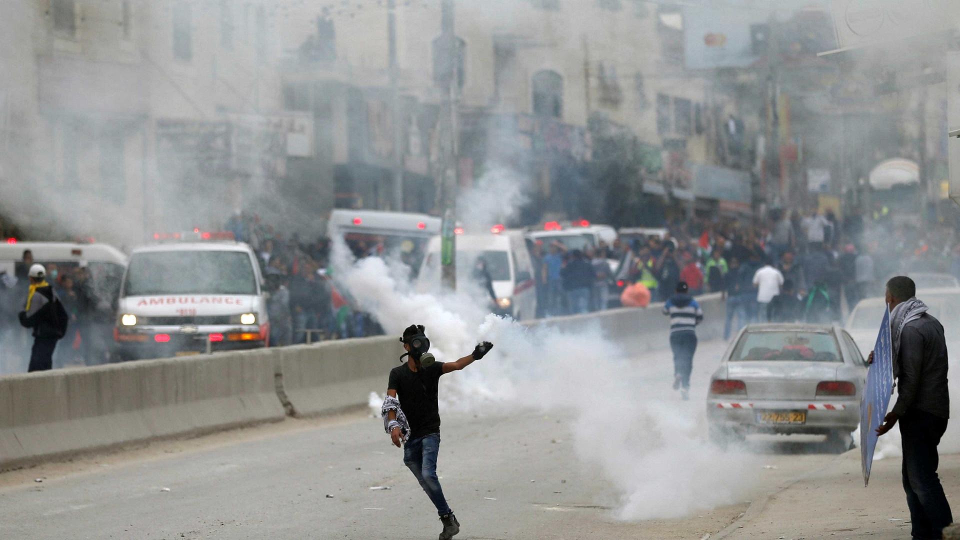 Sete israelitas feridos em ataque na Cisjordânia ocupada