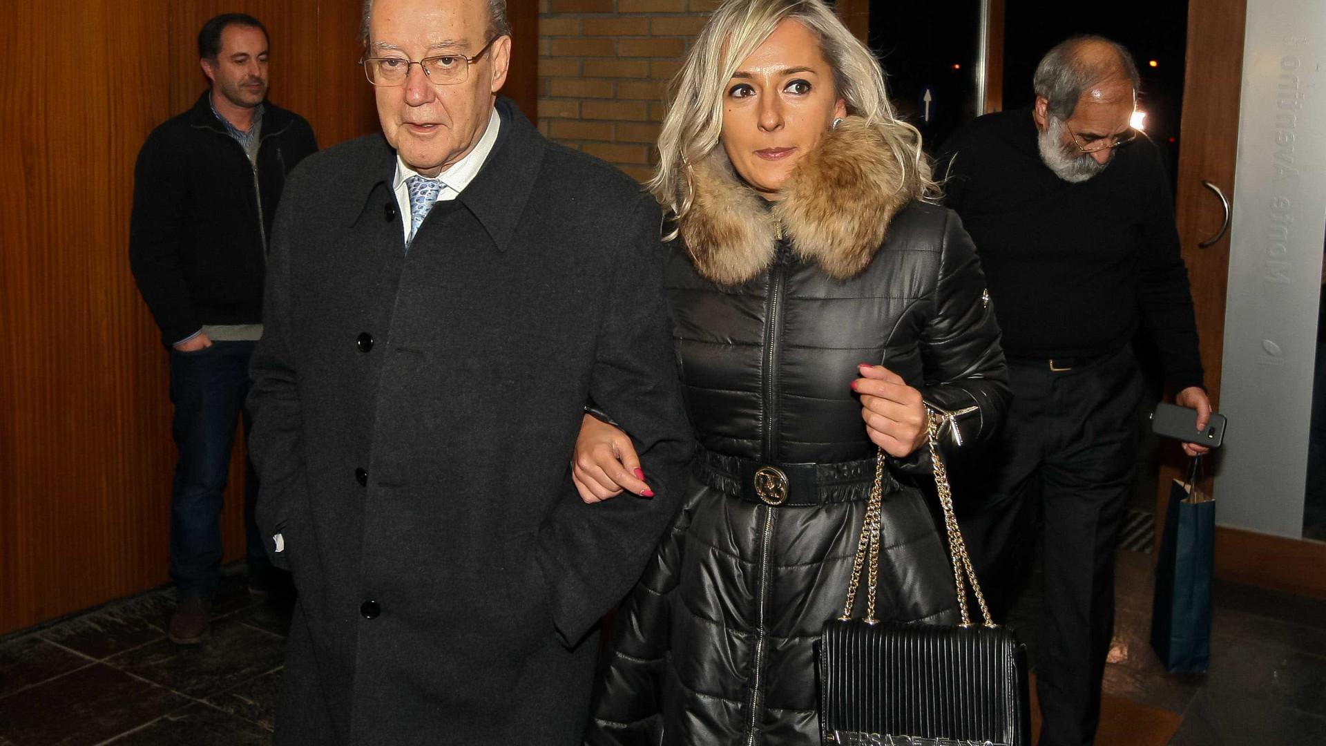 Pinto da Costa assume relação com Cláudia Campo