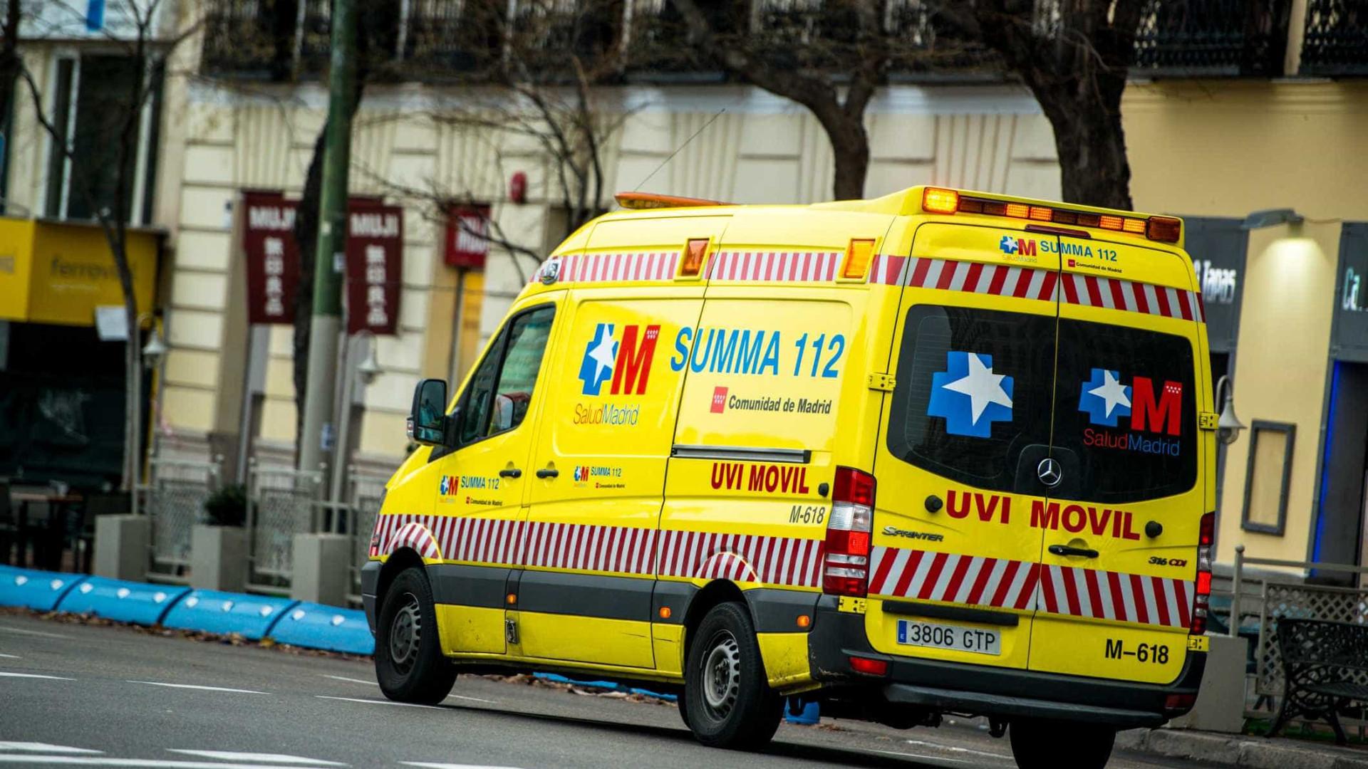 Acidente ferroviário em Espanha provoca 45 feridos, quatro em estado grave