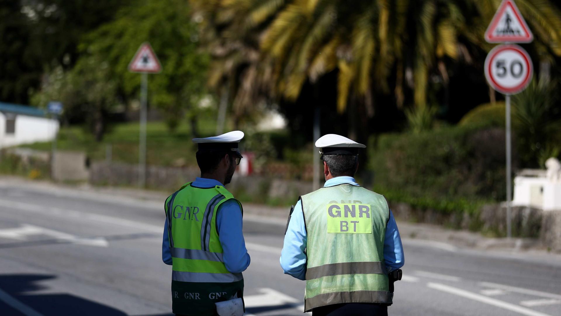 GNR deteve 468 pessoas na última semana em todo o país