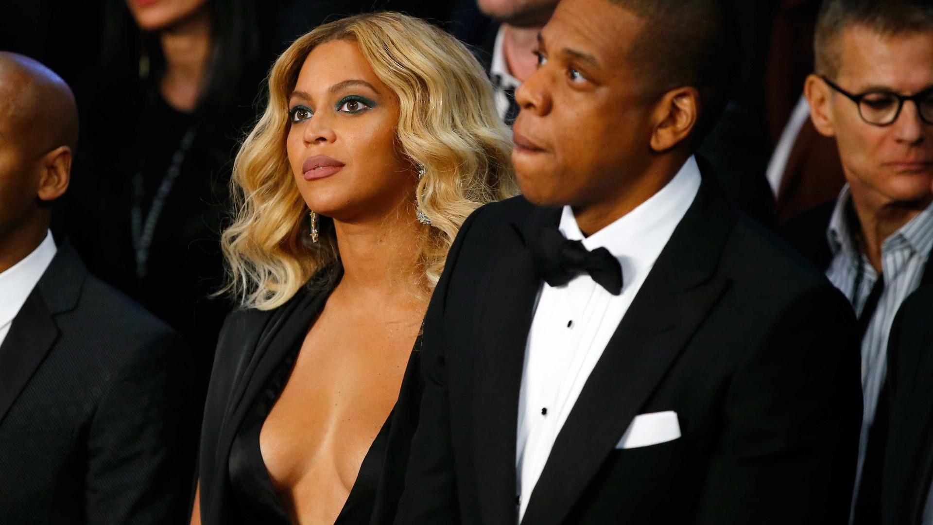 """Beyoncé em 'defesa' do marido: """"Tira as mãos do peito do meu homem"""""""
