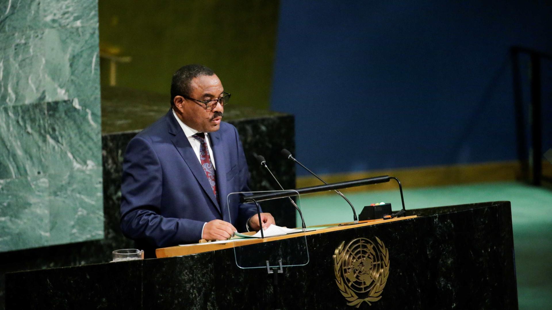 Primeiro-ministro da Etiópia apresenta demissão após violentos protestos