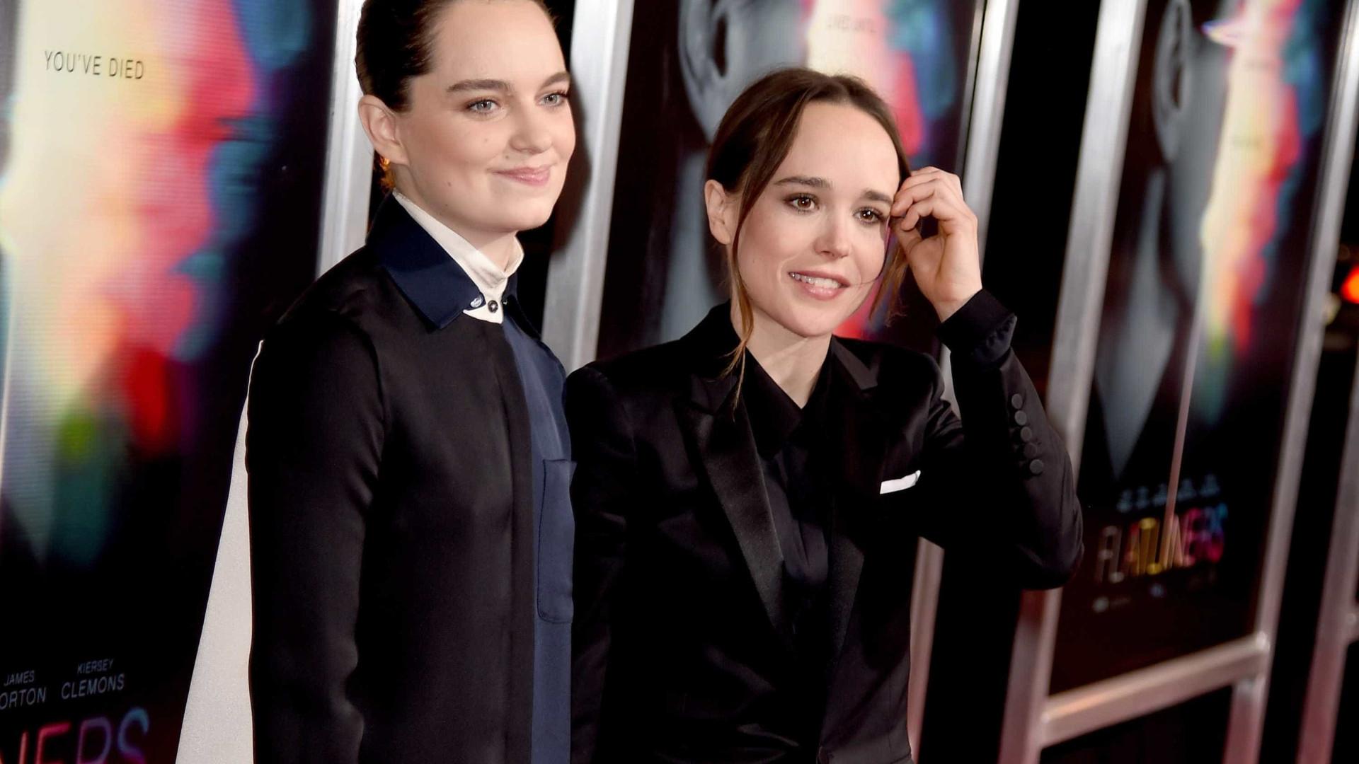 Ellen Page casou-se em segredo com bailarina Emma Portner