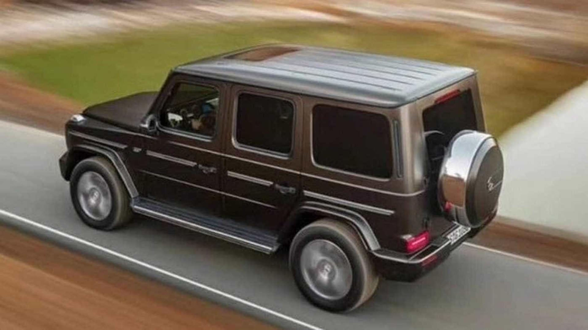 Notcias ao Minuto Mercedes Benz Classe G revelado antes do tempo
