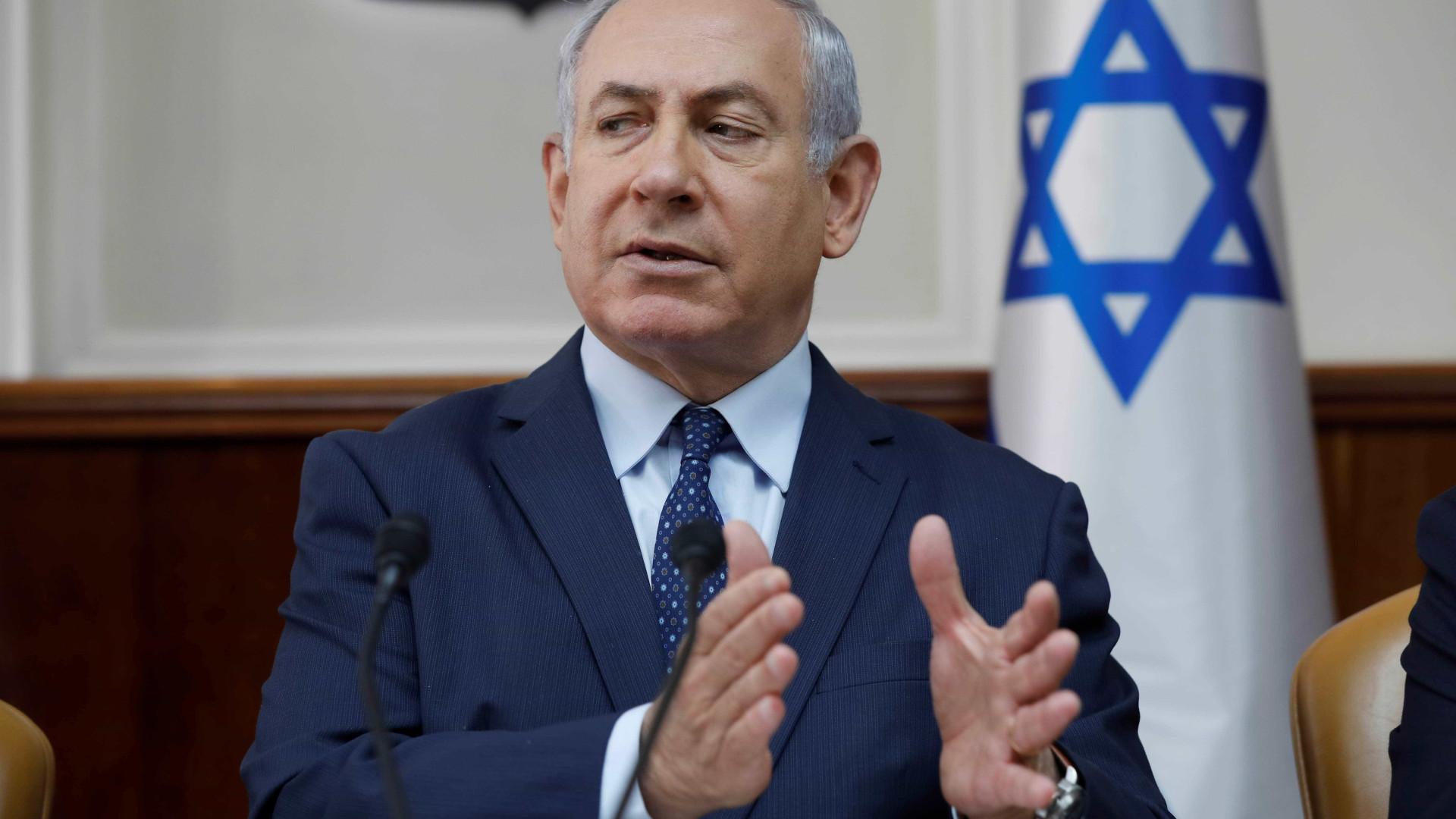 Netanyahu diz que Israel vai responder a explosão na fronteira de Gaza