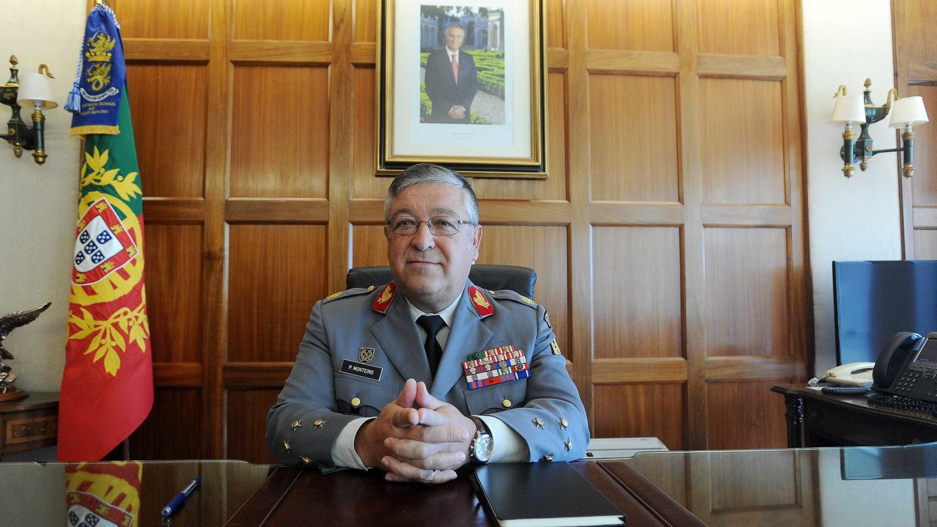 Chefe do Estado-Maior ouvido no Parlamento por falta de efetivos