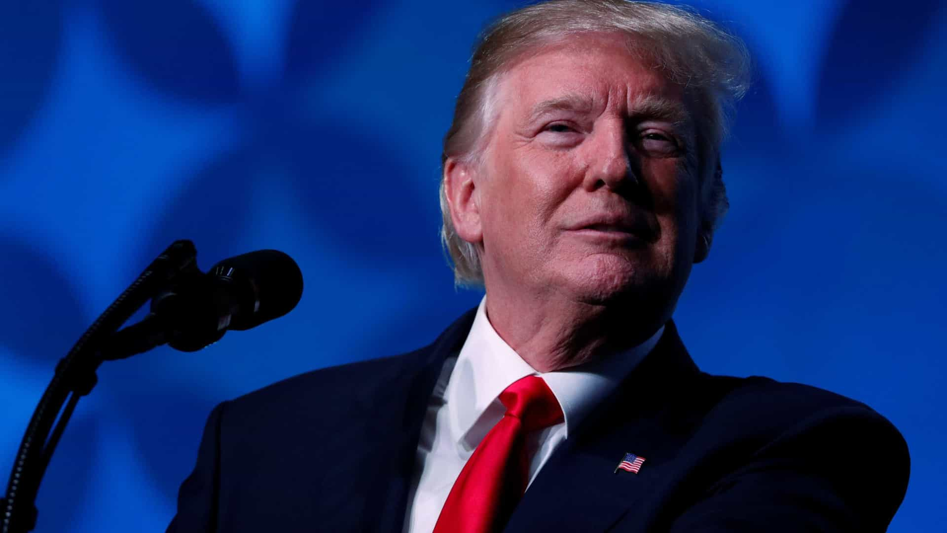Trump vai discursar no encerramento do Fórum Económico de Davos