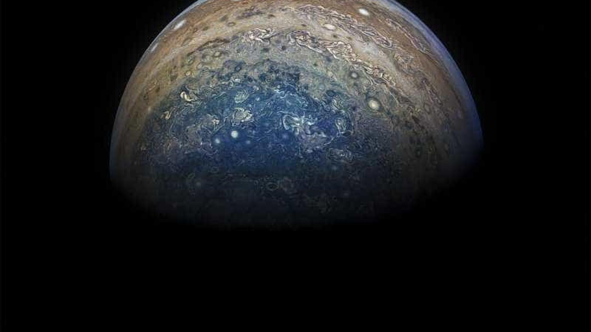 Majestoso, Júpiter mostra-se em novas imagens de grande beleza