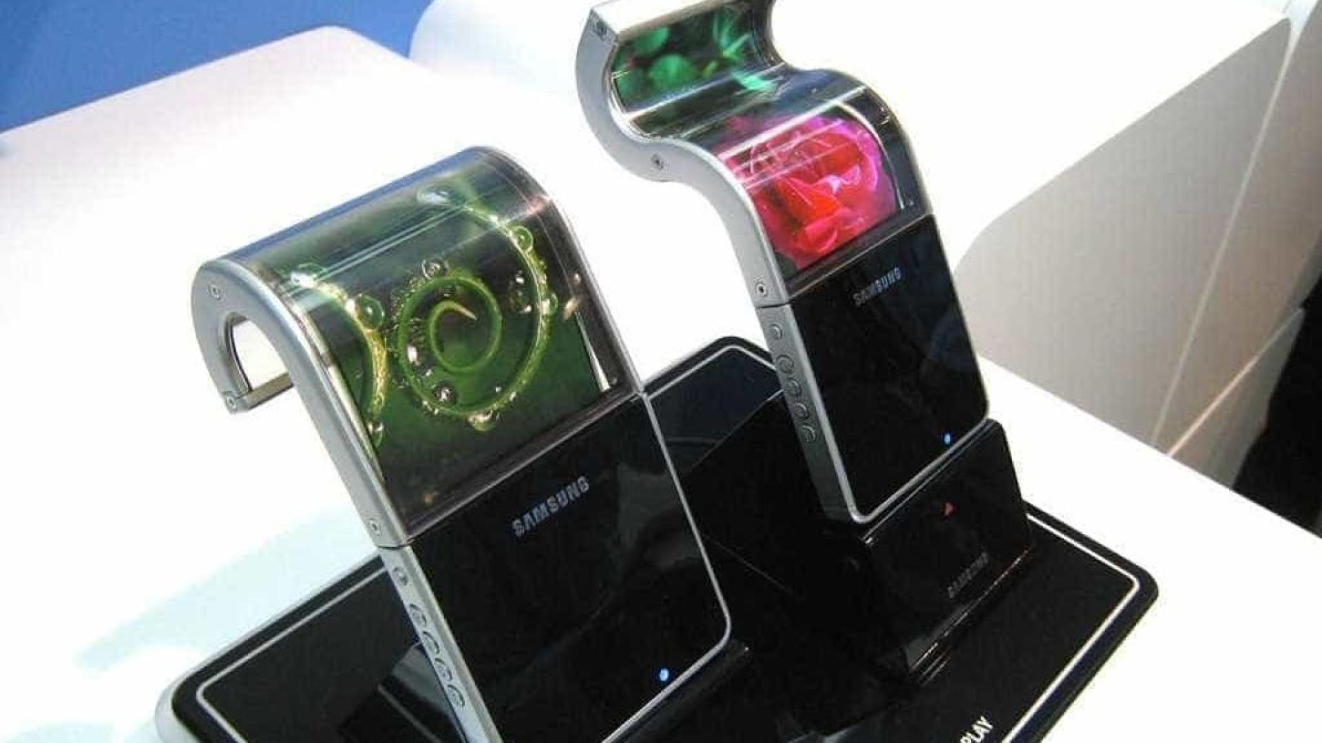 Smartphone dobrável da Samsung será mostrado no início de 2019?