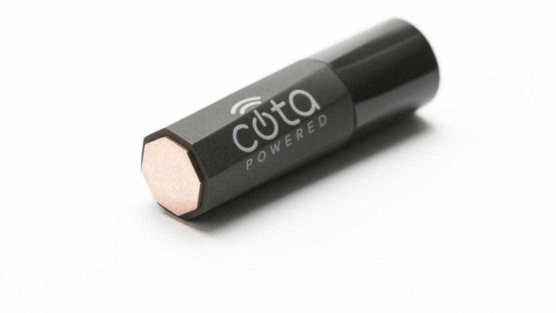 Foi apresentada uma bateria que poderá ser carregada pelo ar