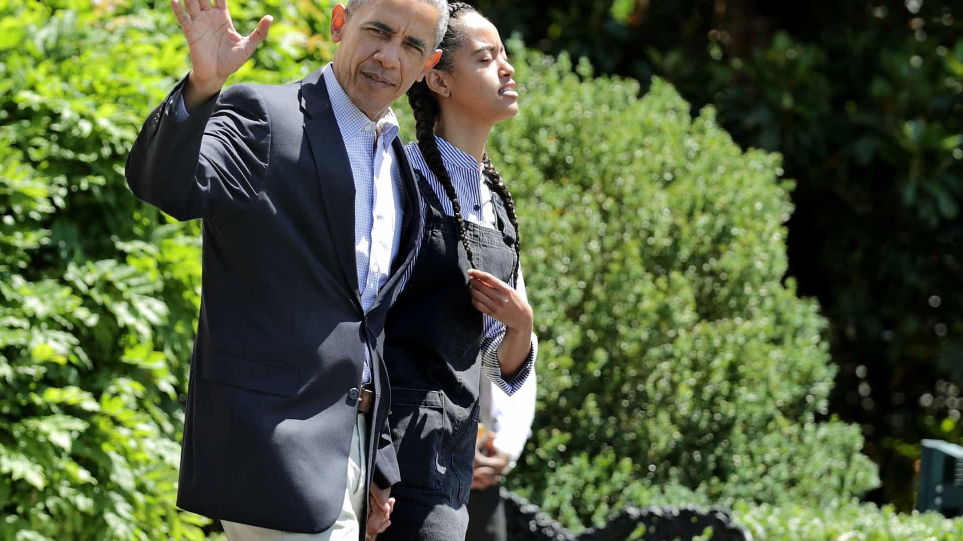 Barack Obama não tem jeitinho nenhum para mudanças (e que o diga Malia)