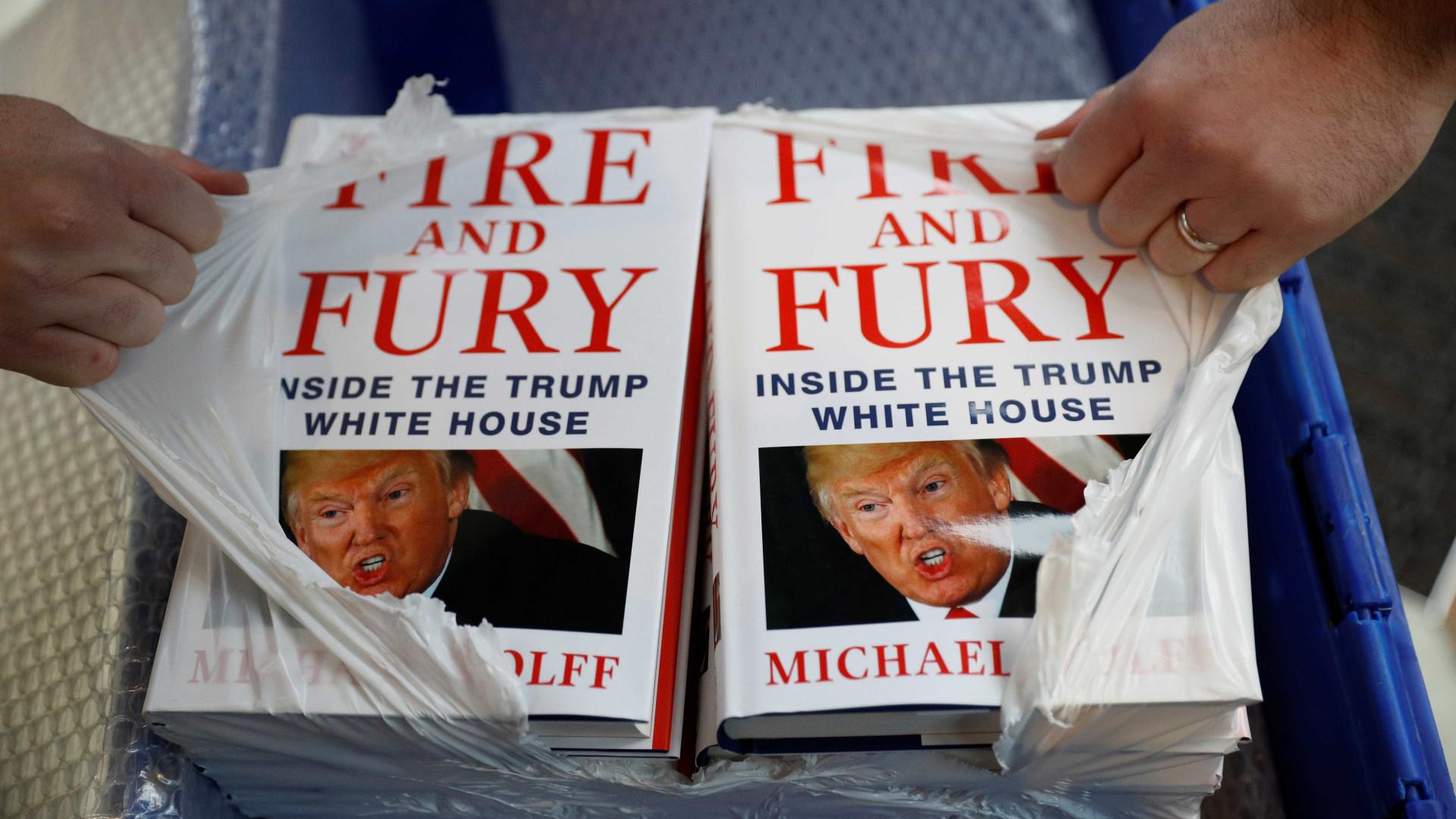 Livro sobre Trump que tem causado polémica chega em Fevereiro