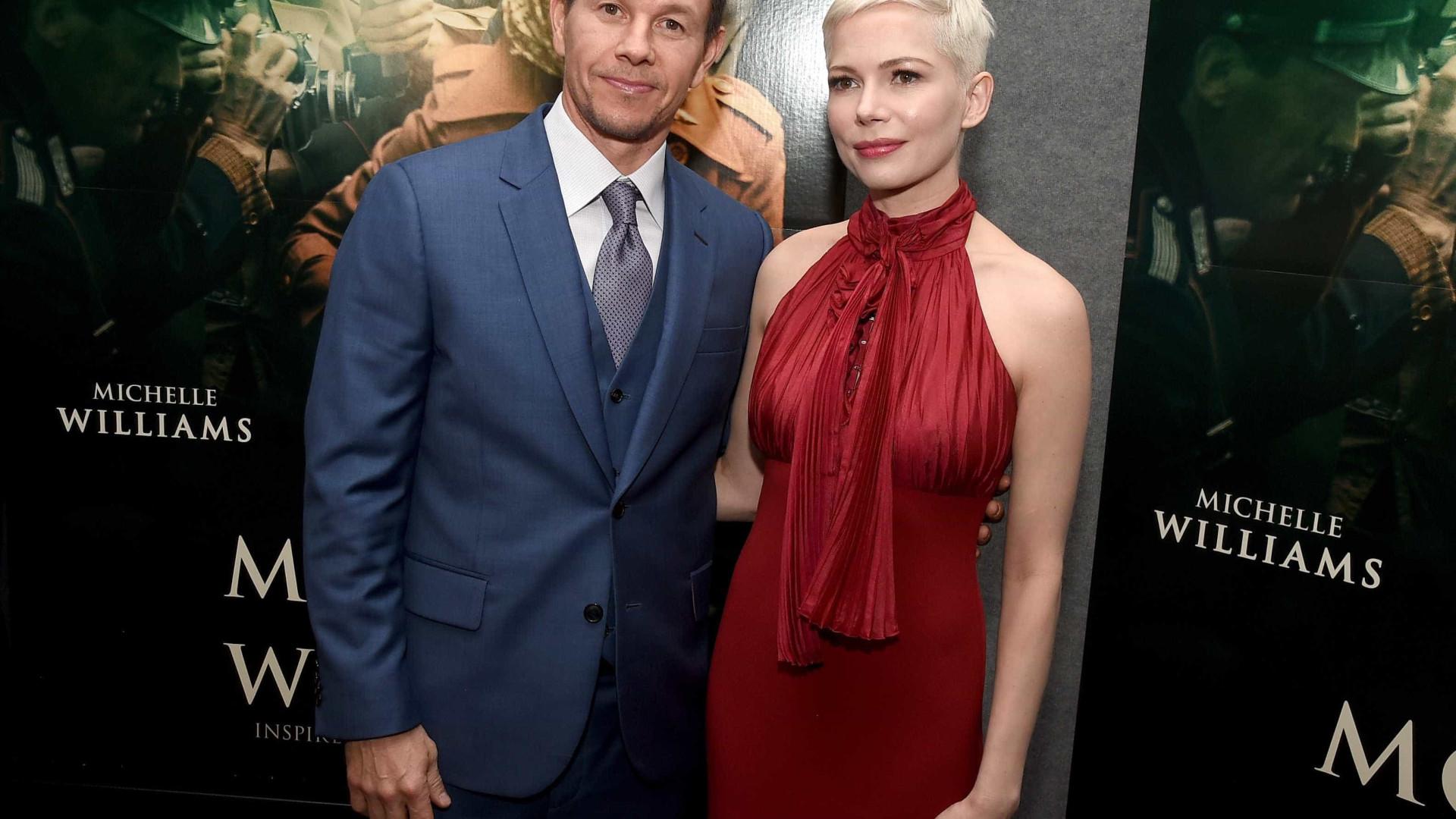 Wahlberg doou 1,5 milhões à Time's Up em nome de Michelle Williams