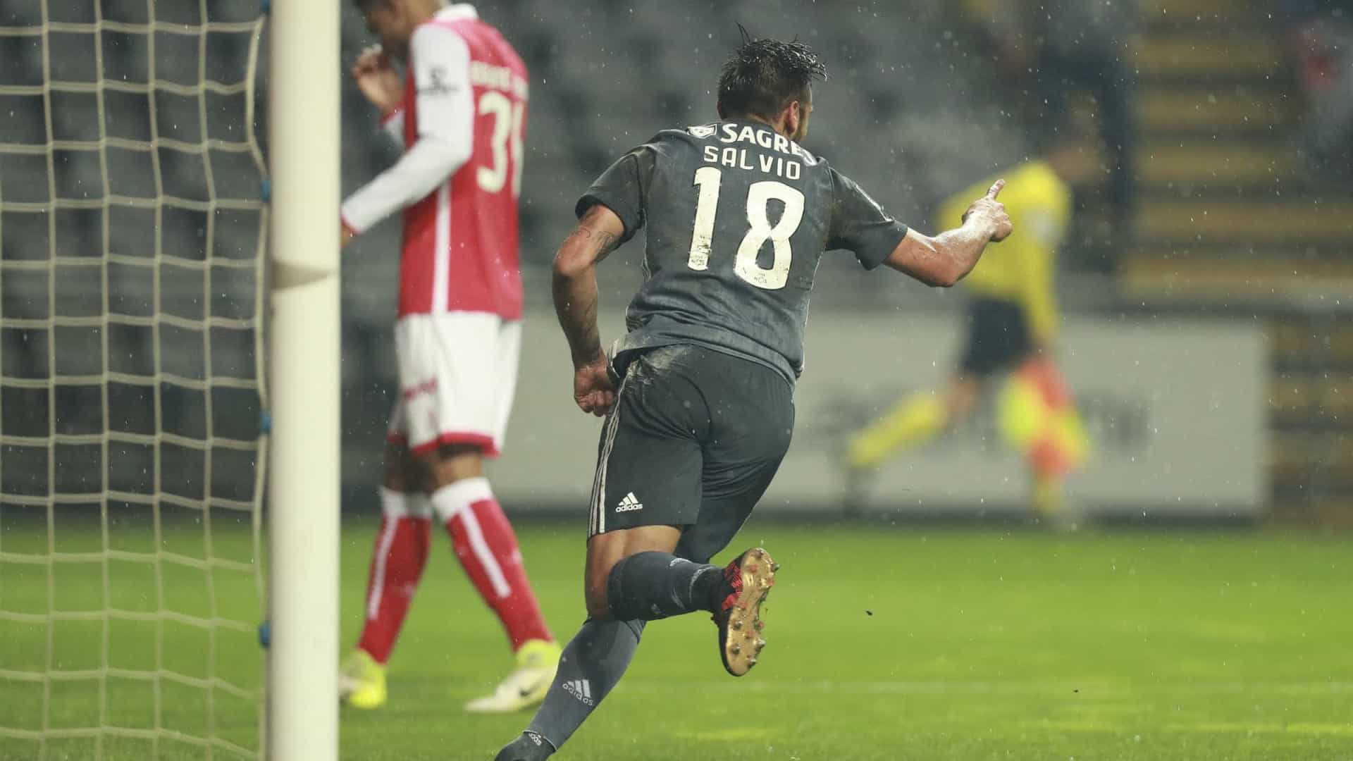 """Salvio: """"O Benfica vai lutar até ao final e... contem connosco."""""""