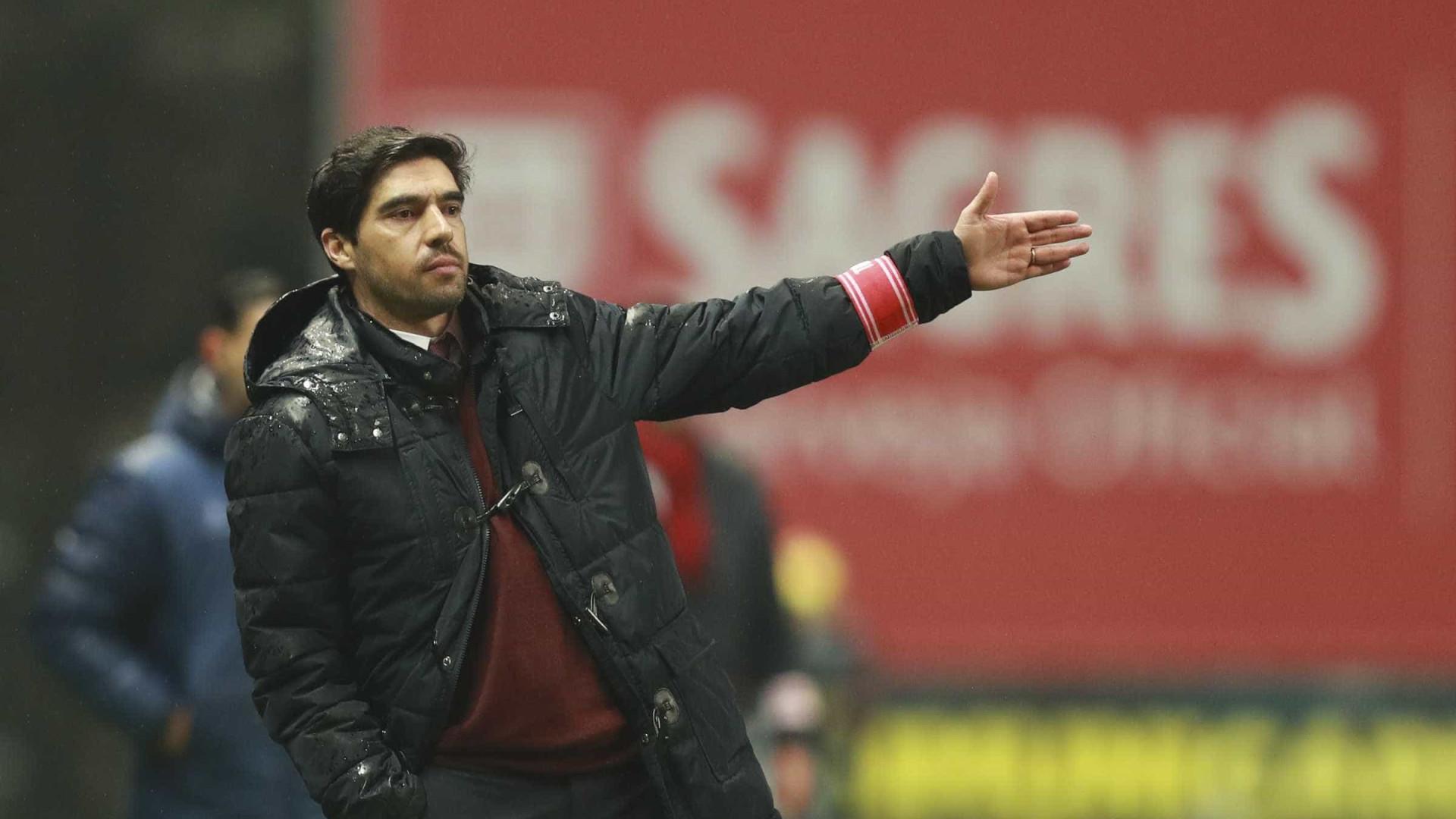 """Para Abel """"houve um segredo que ditou o resultado"""" frente ao Benfica"""