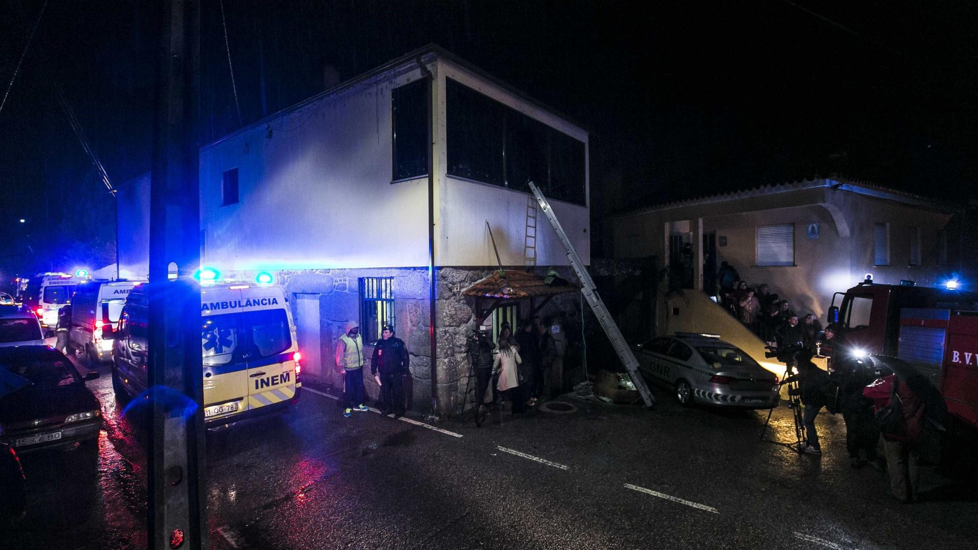 Tondela: Dois feridos internados em Coimbra com prognóstico reservado