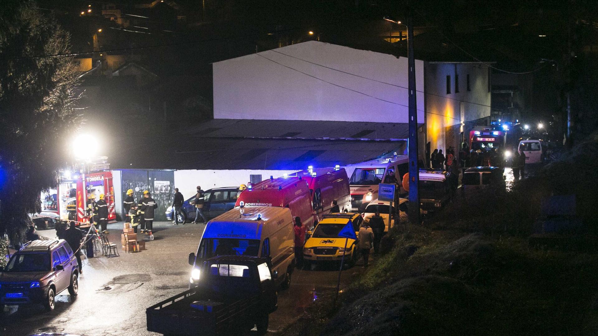 Tondela: Oito mortos e 34 feridos, adolescente transportada para Lisboa