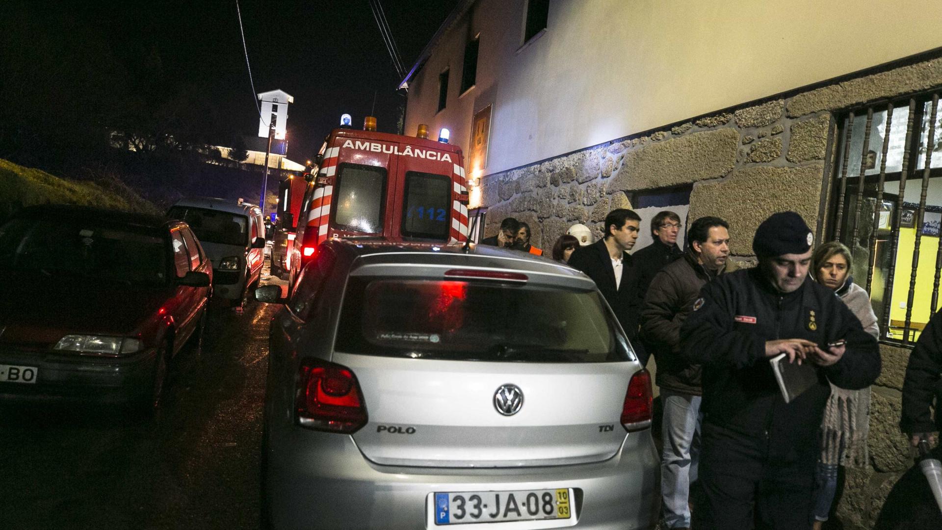 Tondela: Nove dos feridos em incêndio ainda internados em Viseu