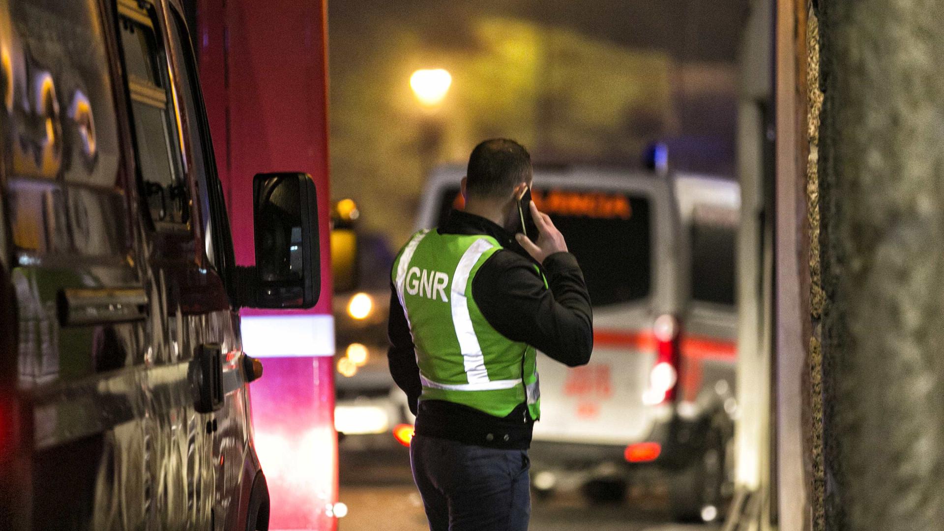 Dois feridos internados em Coimbra mantêm-se com prognóstico reservado