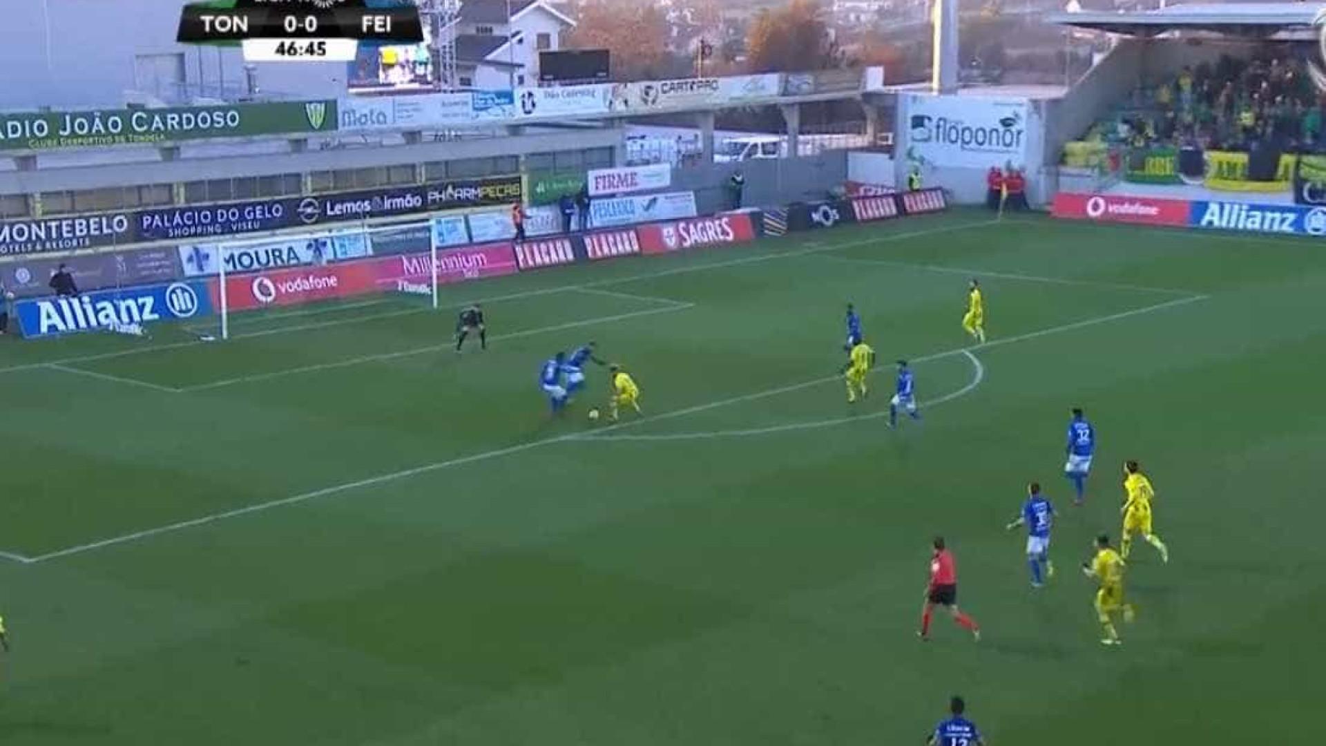 Murilo e o golo ao Feirense: Adversários para o lado e um tiro fantástico