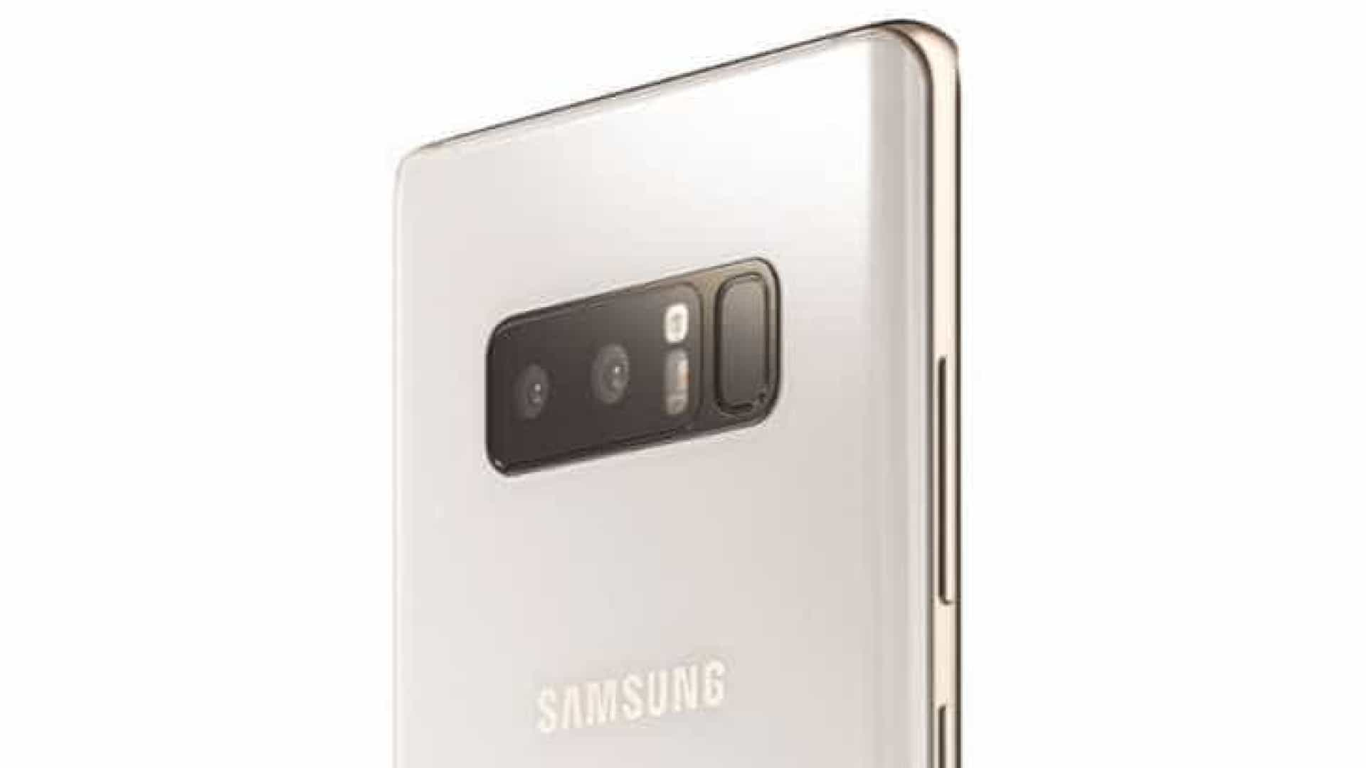 Conheça a edição especial do Galaxy Note8