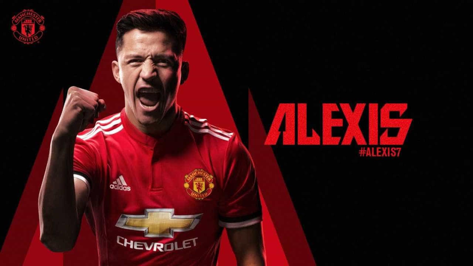 Oficial: Alexis Sánchez é jogador do Manchester United
