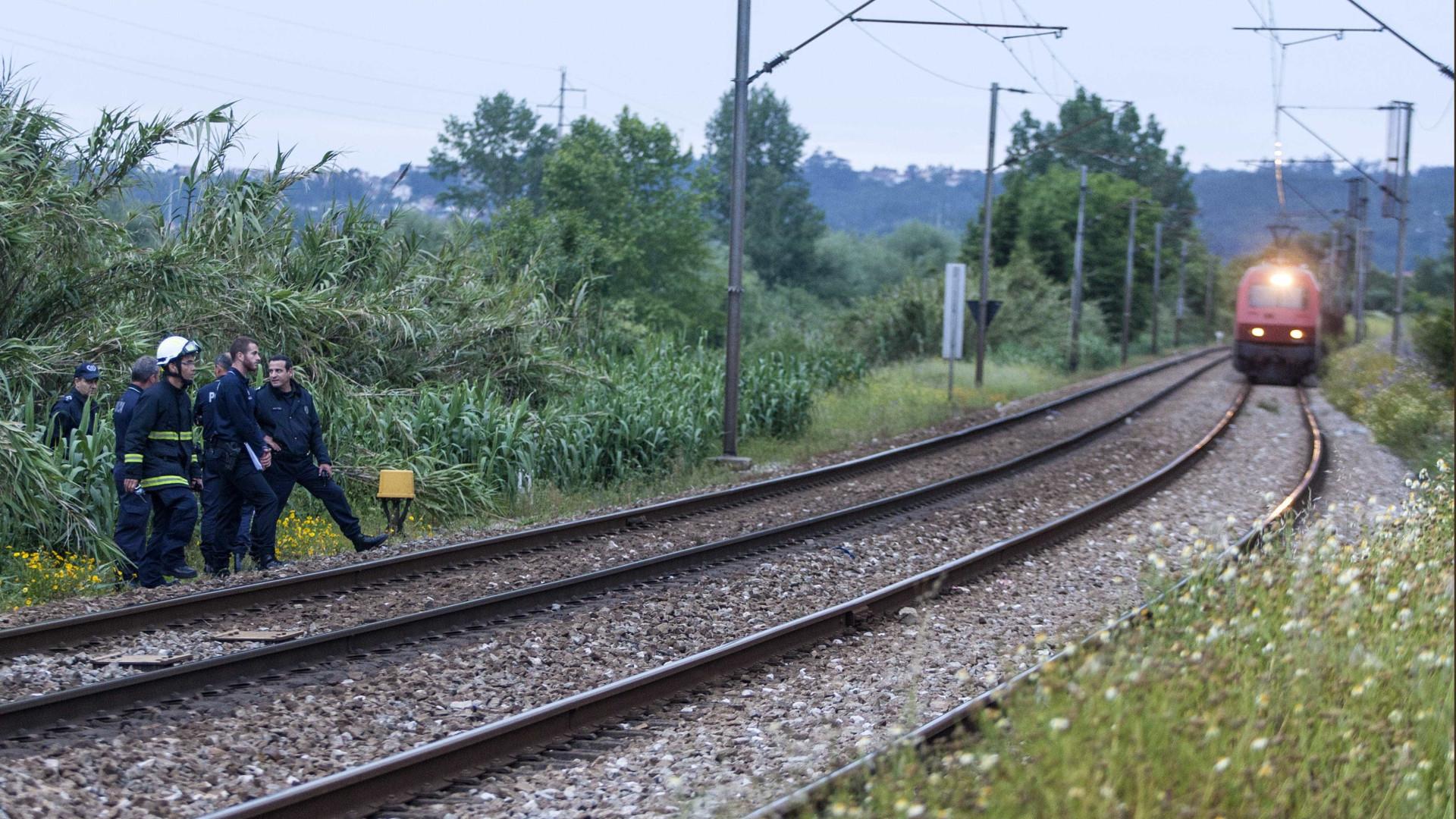 Atropelamento mortal condiciona circulação ferroviária em Rio Tinto