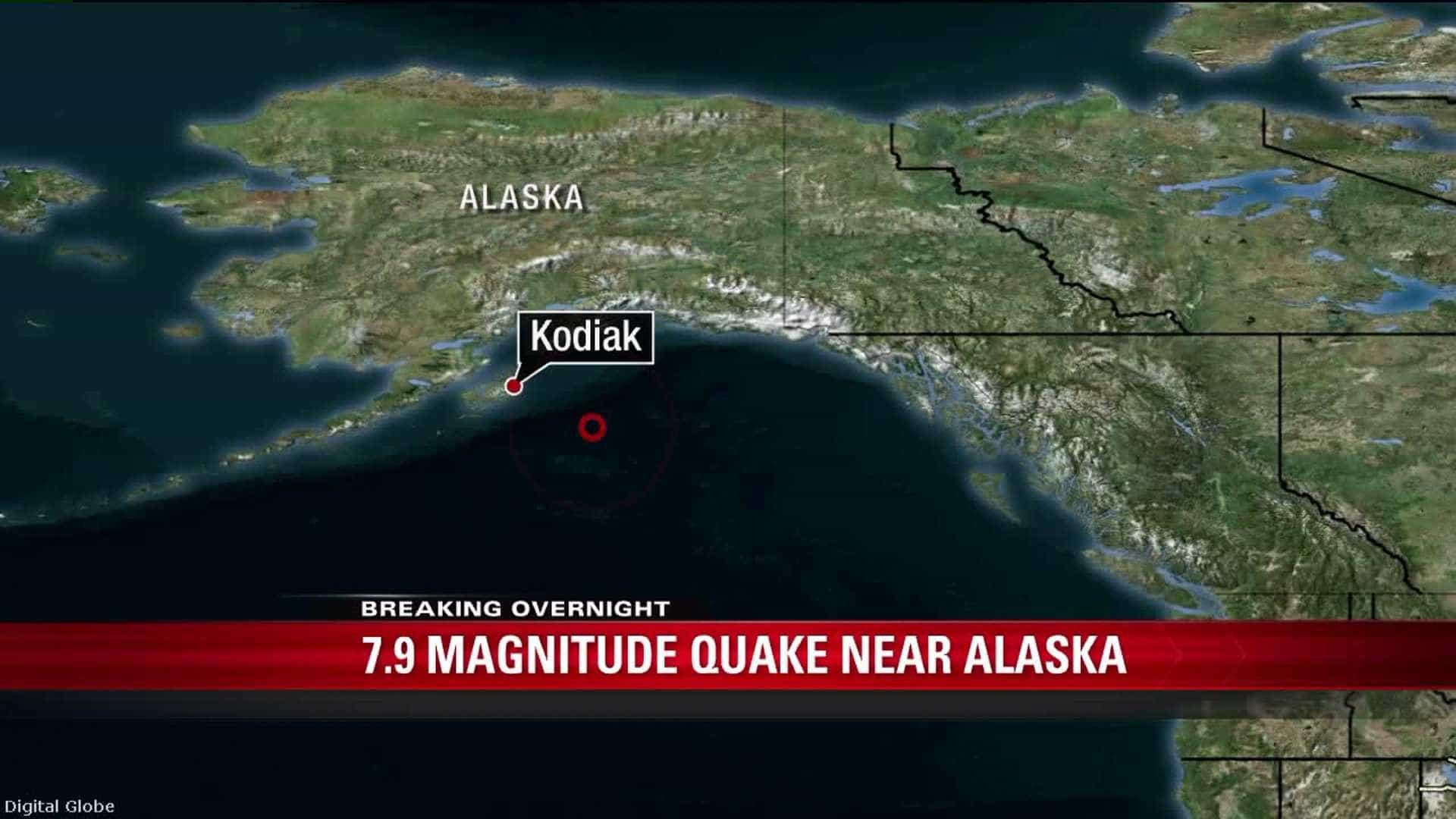 Após forte terremoto no Alasca, EUA disparam alerta de tsunami