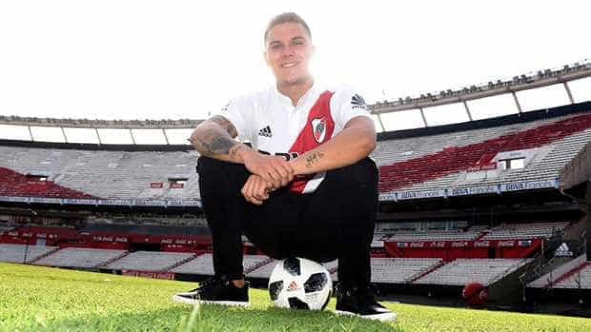 Quintero já está na Argentina: