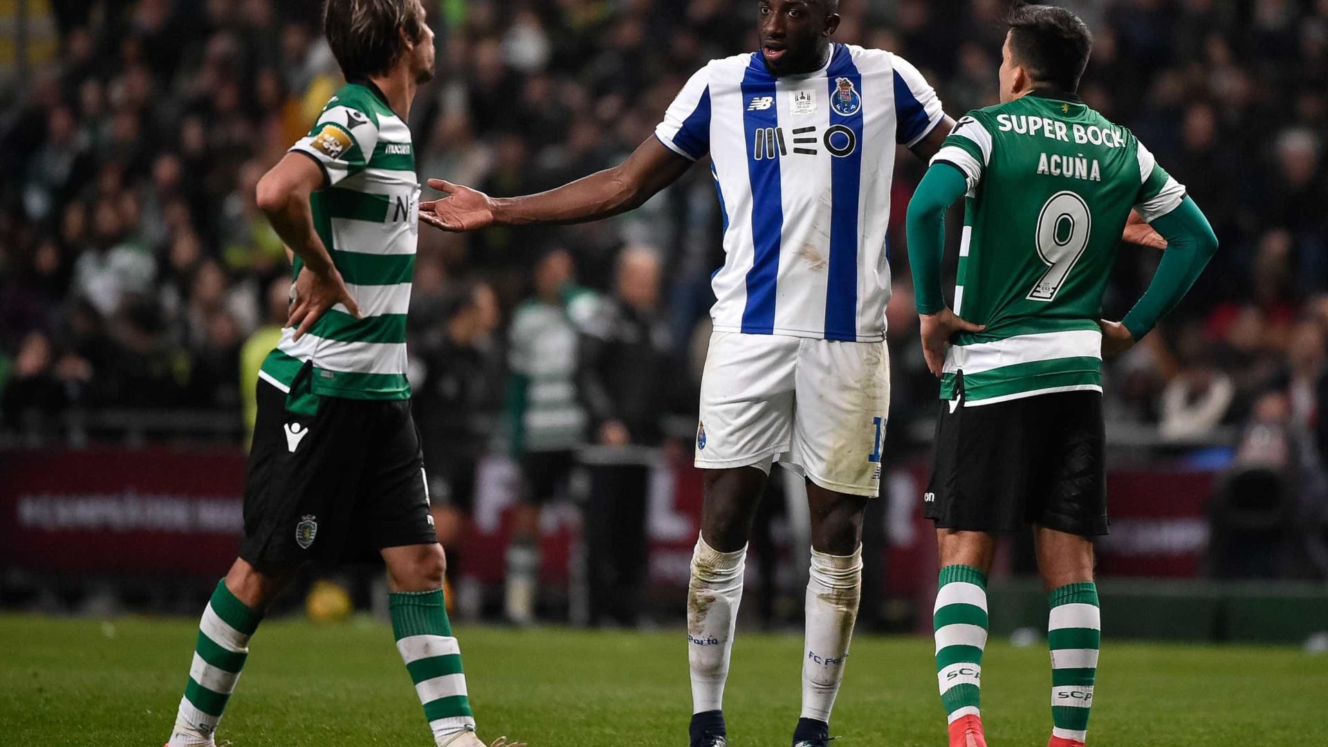 FC Porto acusa Coentrão de alegado racismo a Marega