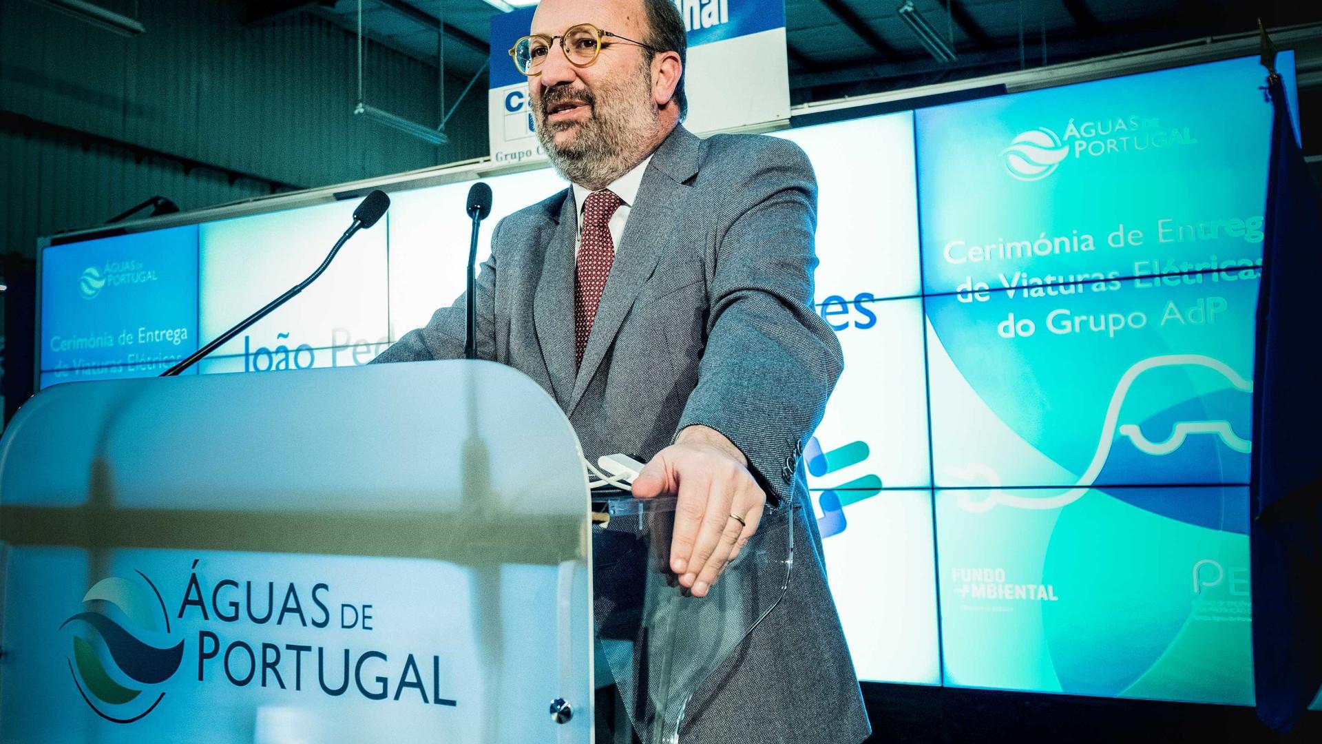 João Matos Fernandes quer solução técnica para efluentes no rio Lis