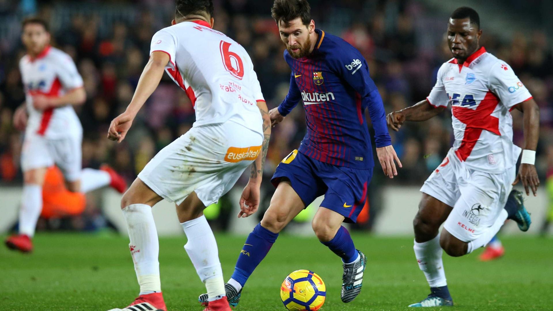 Barcelona x Alavés: Assista aos melhores momentos do jogo no Camp Nou