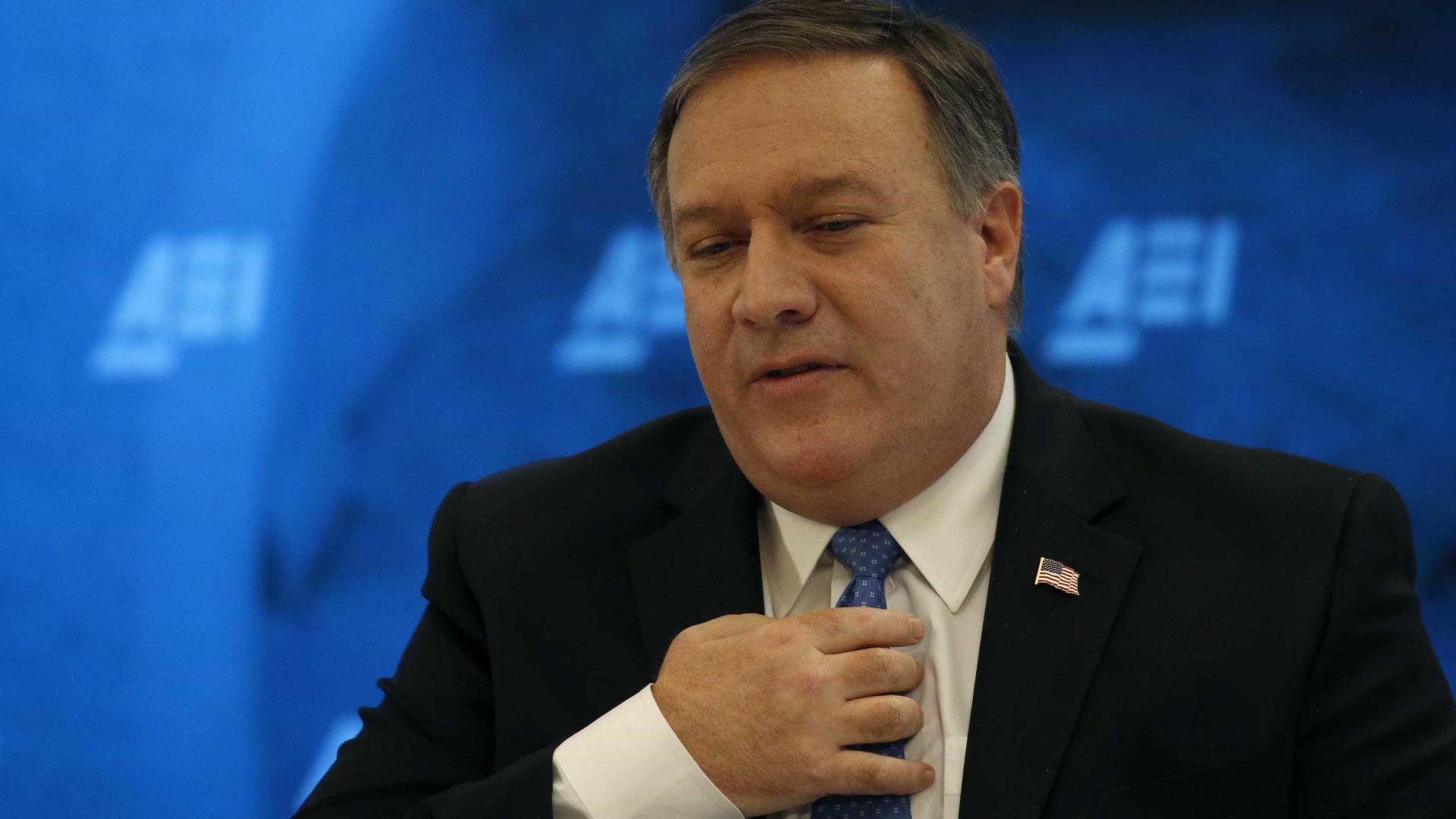 """EUA alertam Irão para """"elevado custo"""" das suas ações"""