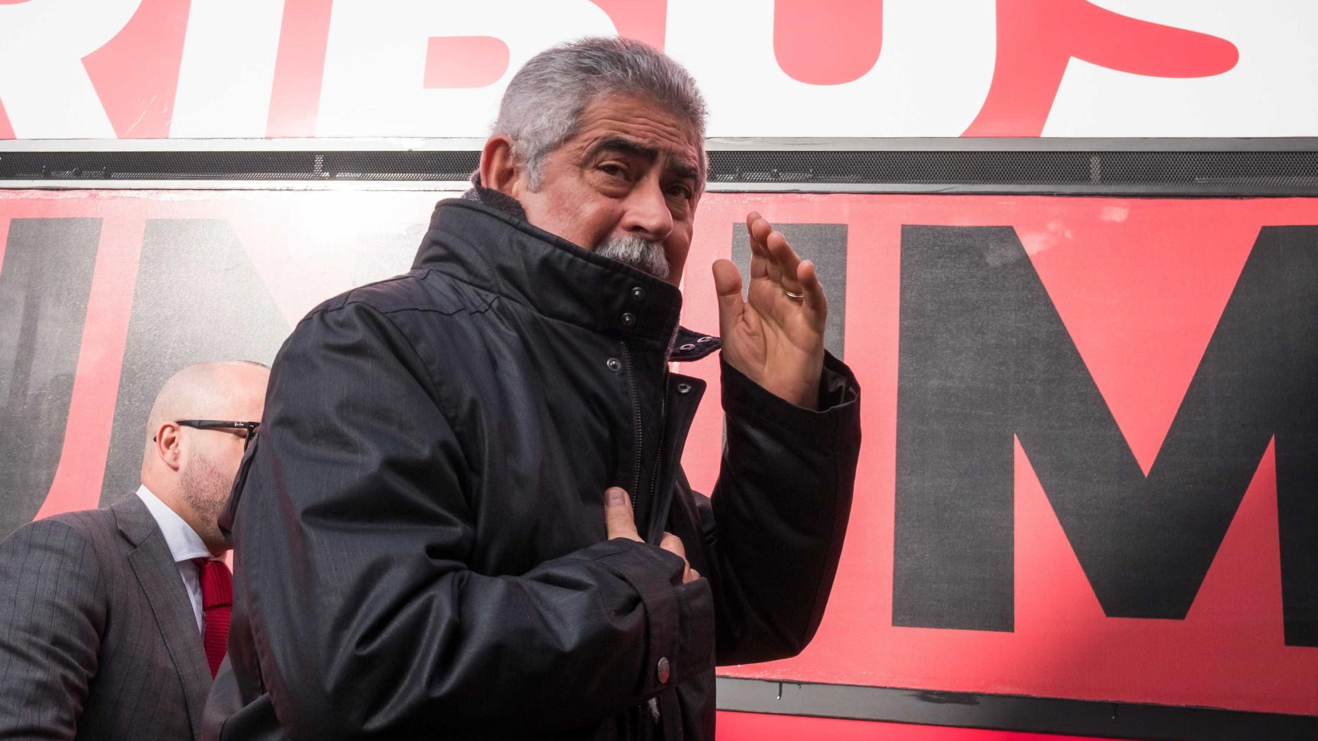 Vieira recusa demitir-se e não receia a concorrência dentro do clube