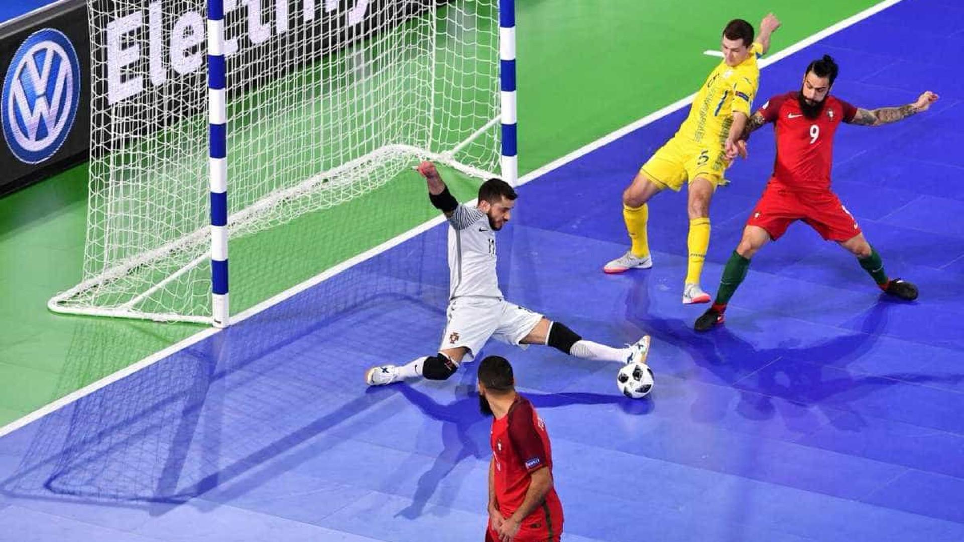 Portugal nos 'quartos', face ao triunfo da Ucrânia sobre a Roménia — Futsal