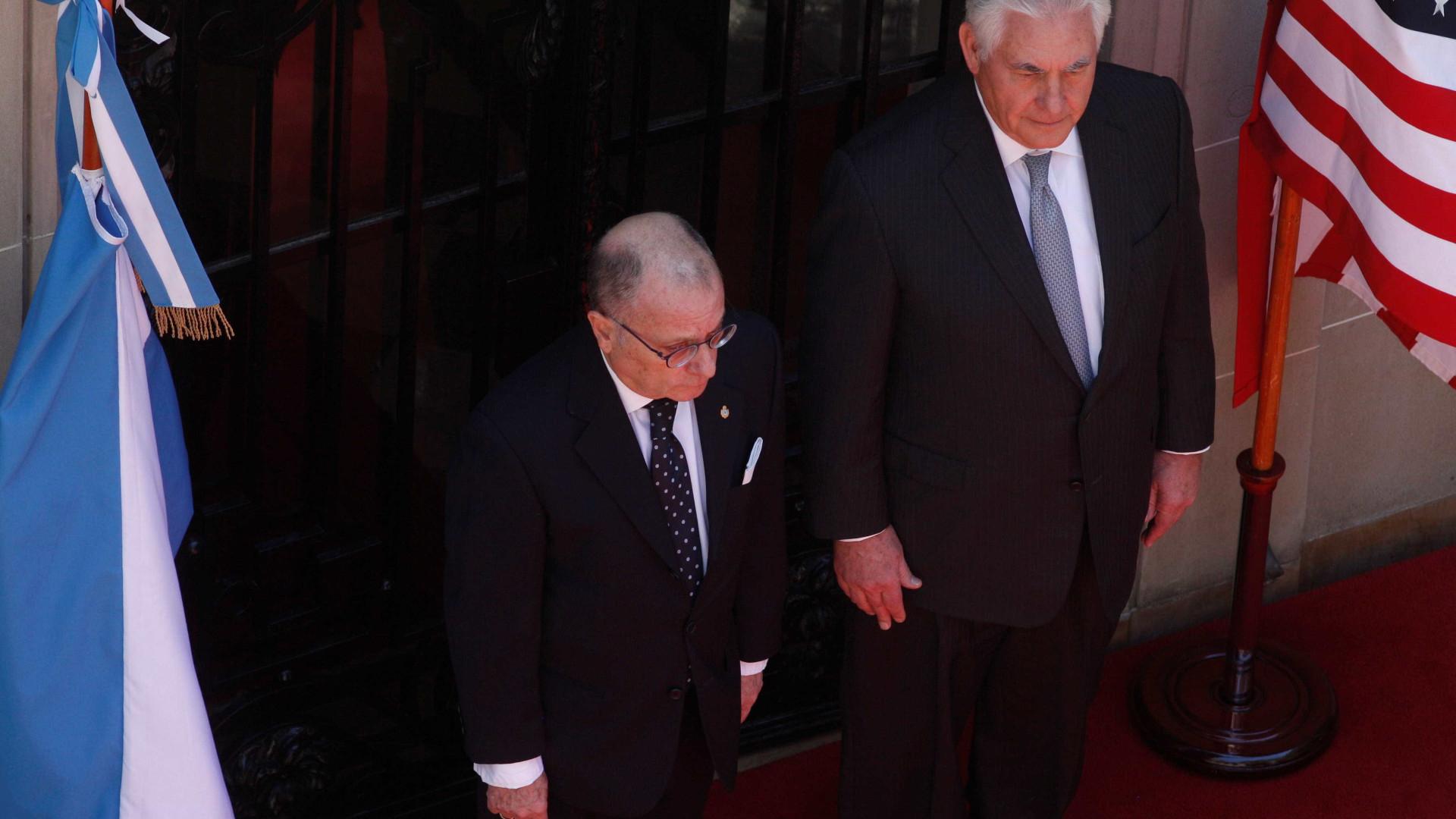 Tillerson alerta para presença de China e Rússia na América Latina