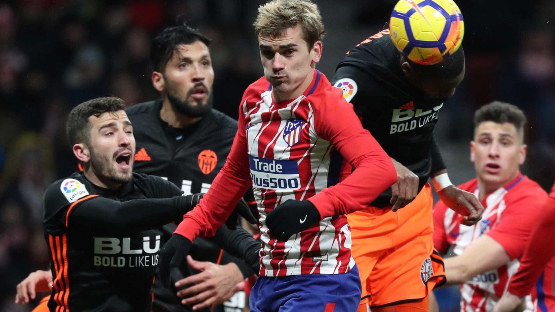 Atlético bate o Valencia em partida decepcionante — Espanhol