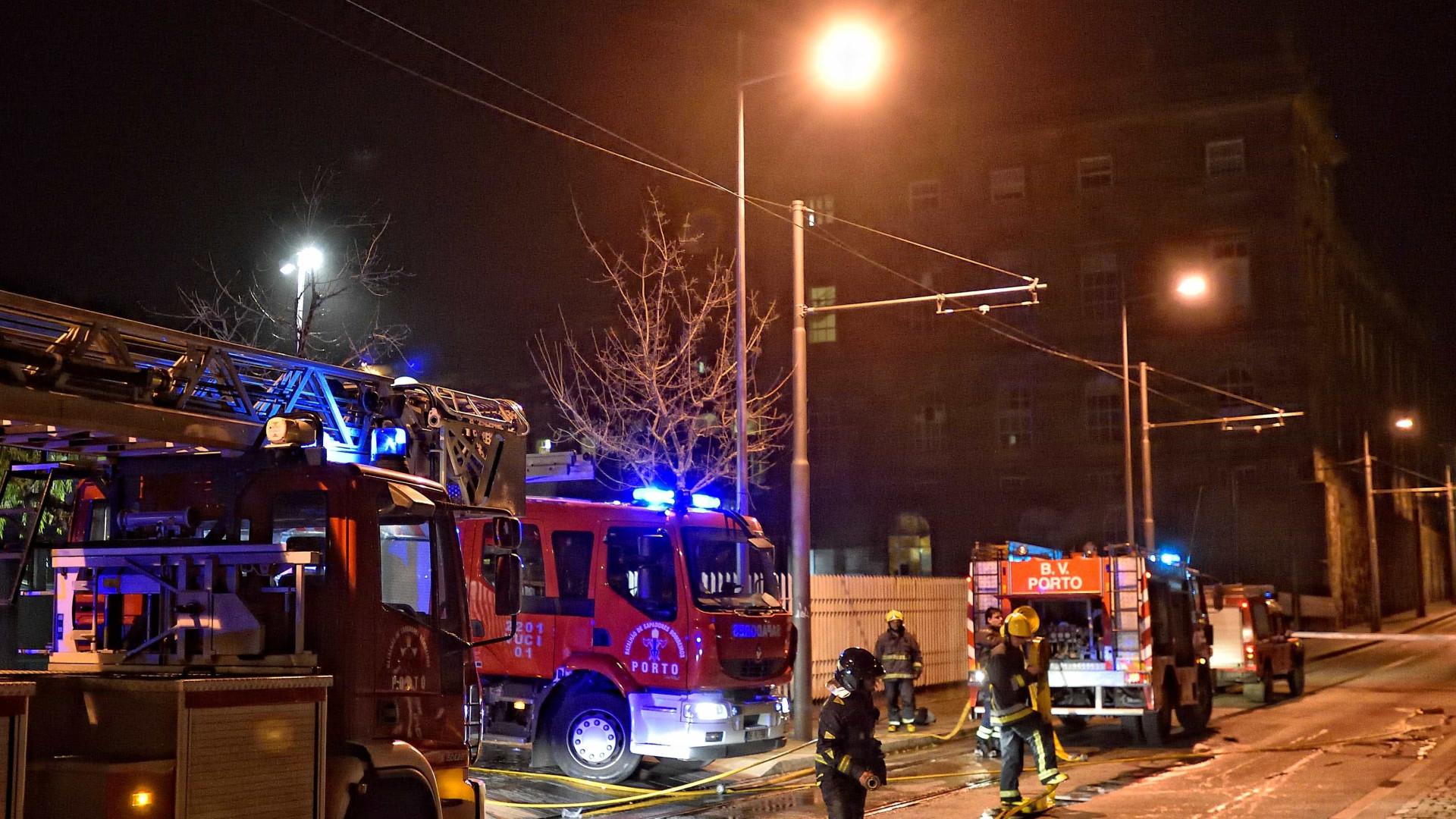 Parte das cirurgias no Santo António canceladas devido a incêndio