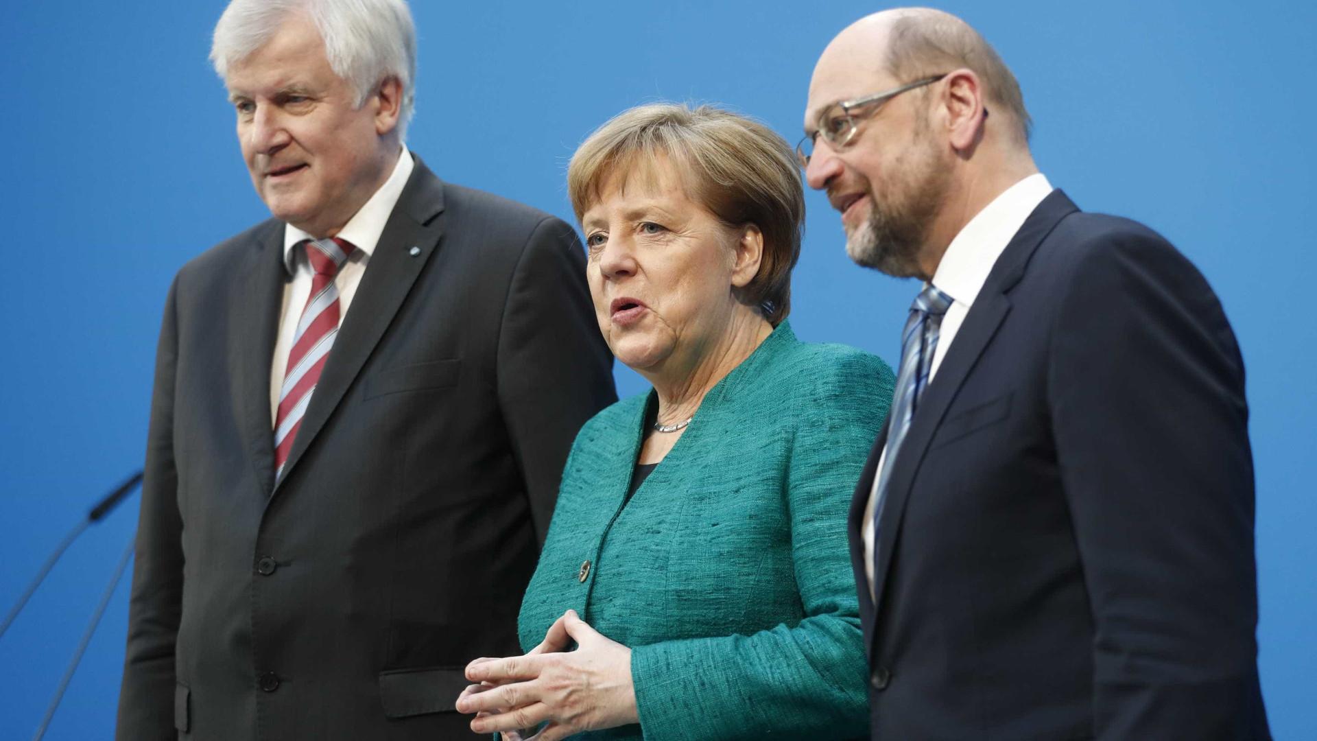Pode já haver acordo para novo Governo da Alemanha
