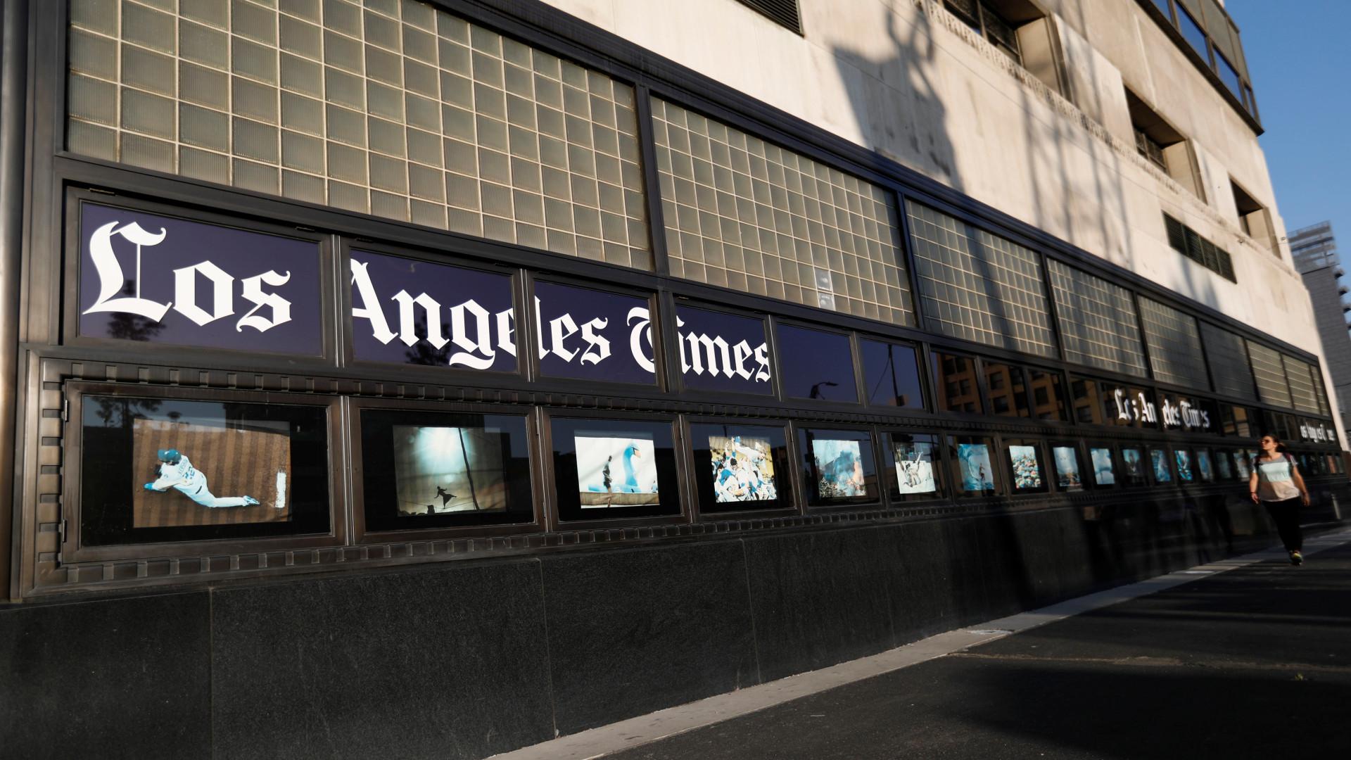 LA Times suspende diretor em Pequim após novo escândalo de assédio