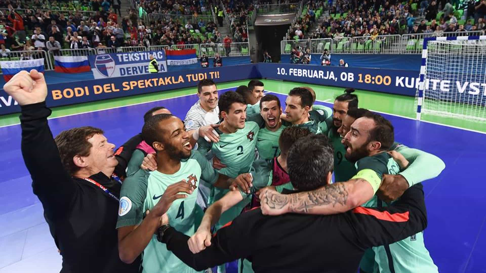 Portugal está na final do Europeu
