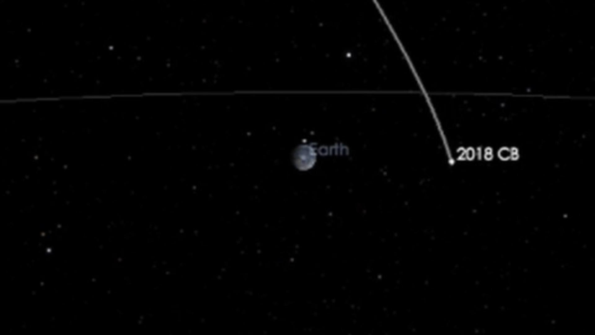 A Terra terá hoje a rara 'visita' de um asteróide