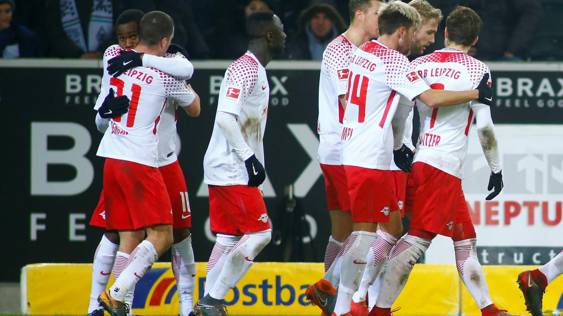 Leipzig vence e sobe ao segundo lugar da Liga alemã