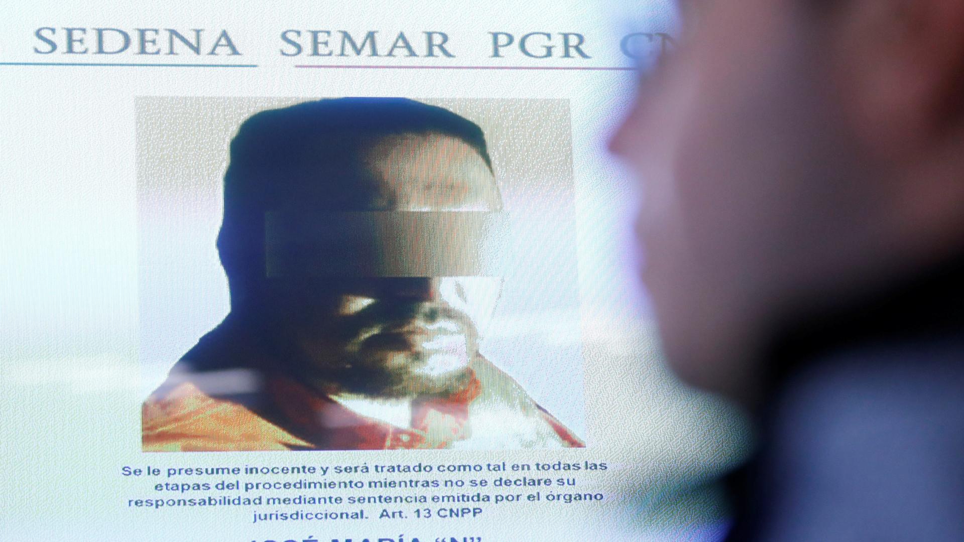 Um dos líderes do cartel Zetas foi capturado no México