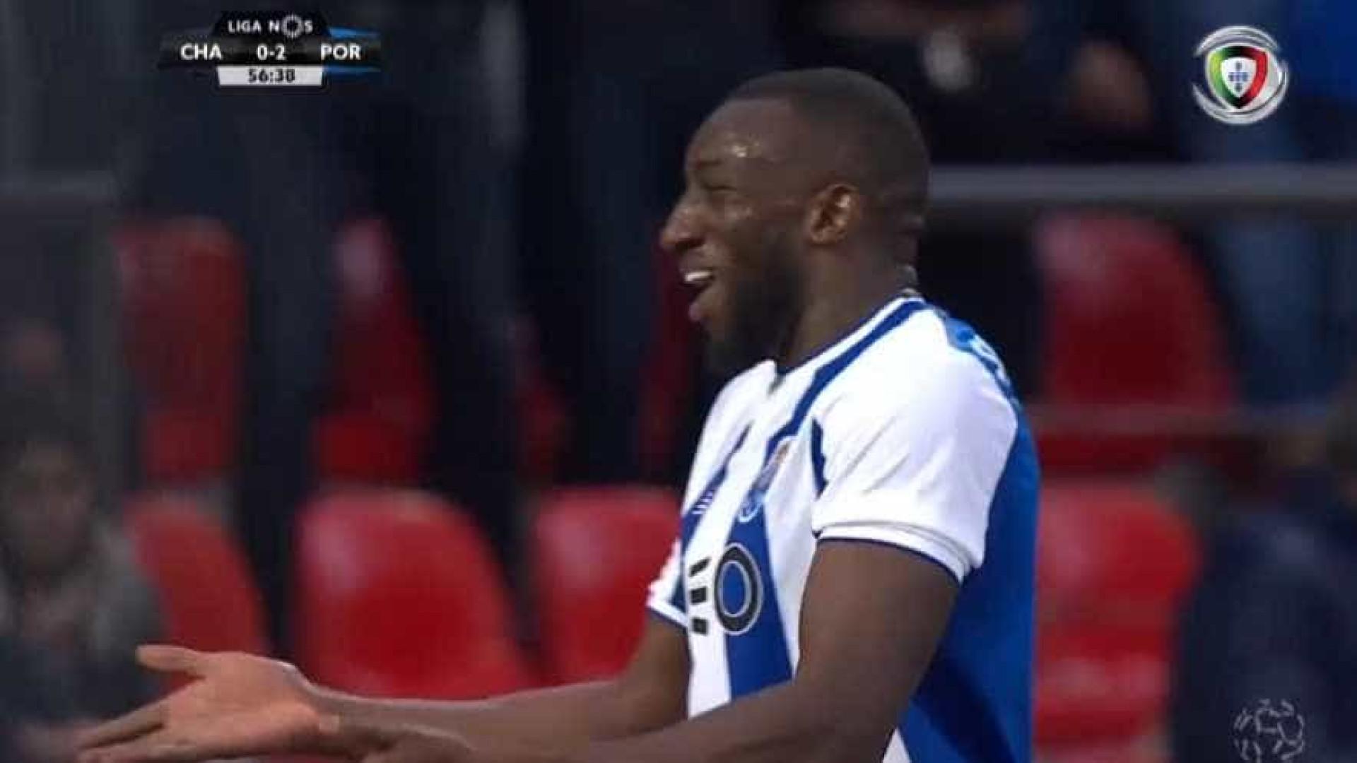 7e10dd68c8 Avançado maliano aumentou a vantagem do FC Porto para 0-3 e assinou o seu  16.º golo esta temporada no campeonato