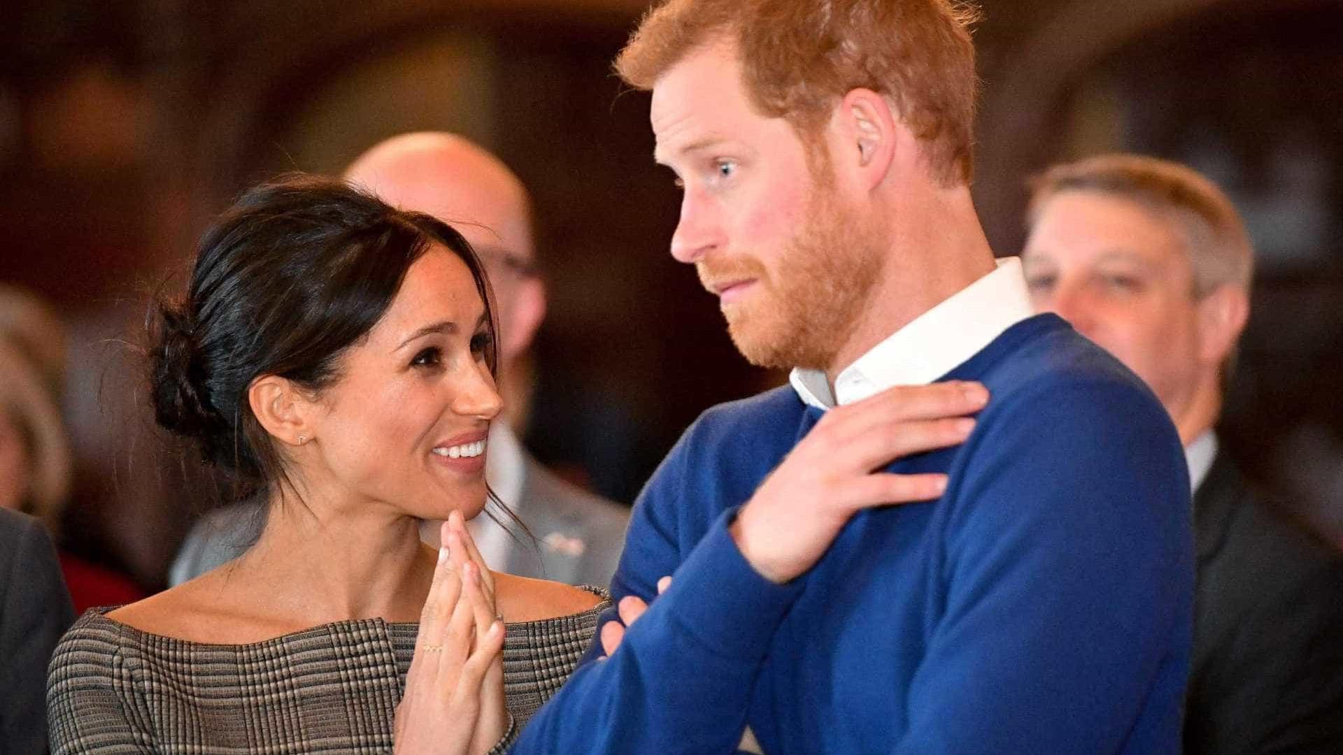 Começaram os ensaios do casamento real: Harry e Meghan chegaram a Windsor
