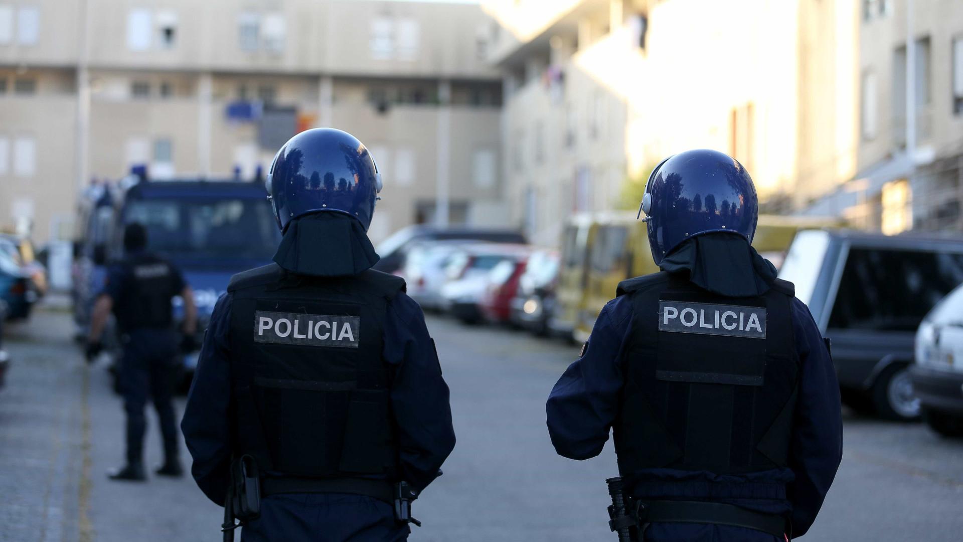 PSP fez 22 detenções e interveio na bancada para minimizar riscos