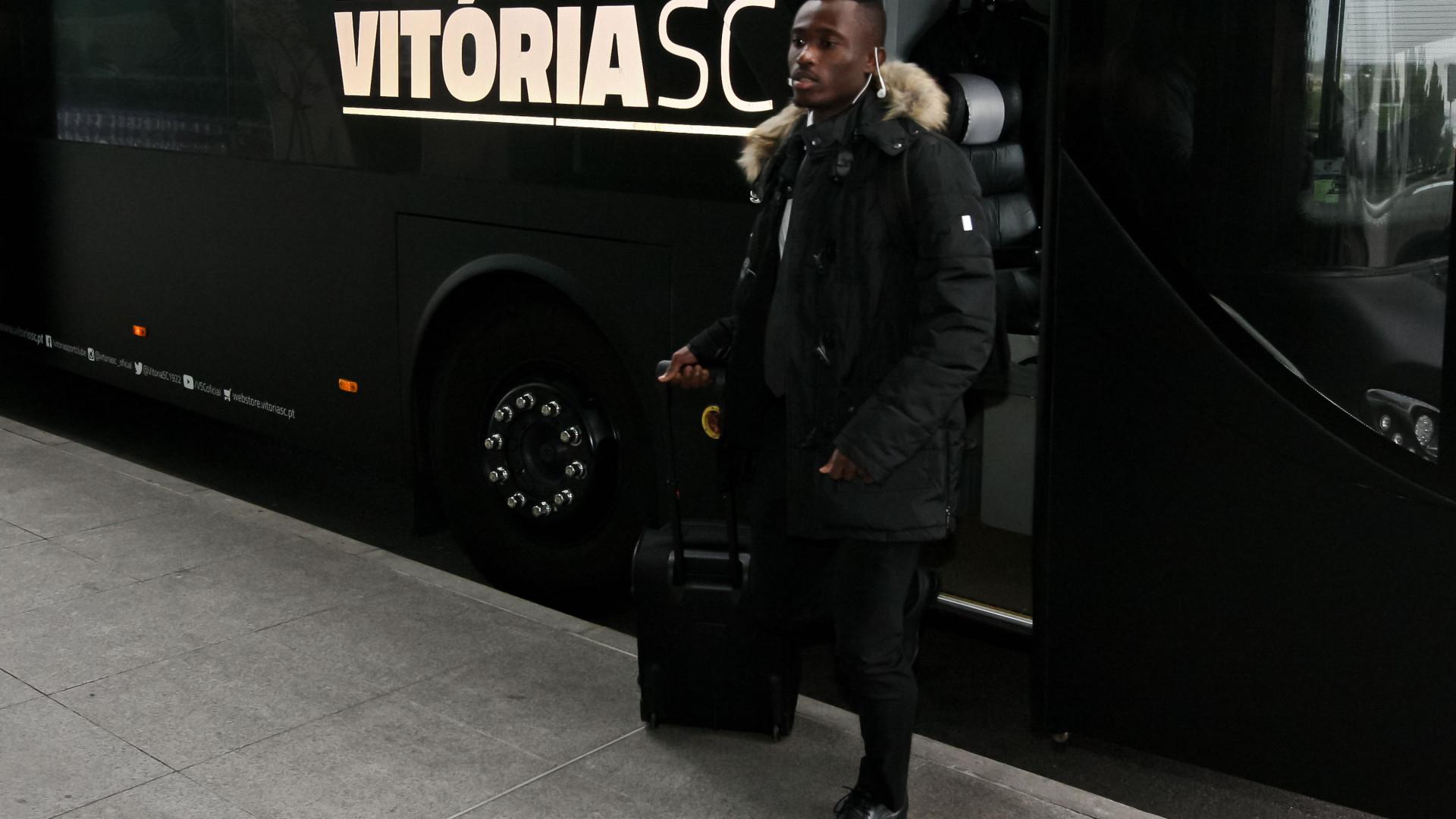 Konan vítima de insultos racistas após derrota do Vitória SC no Bessa