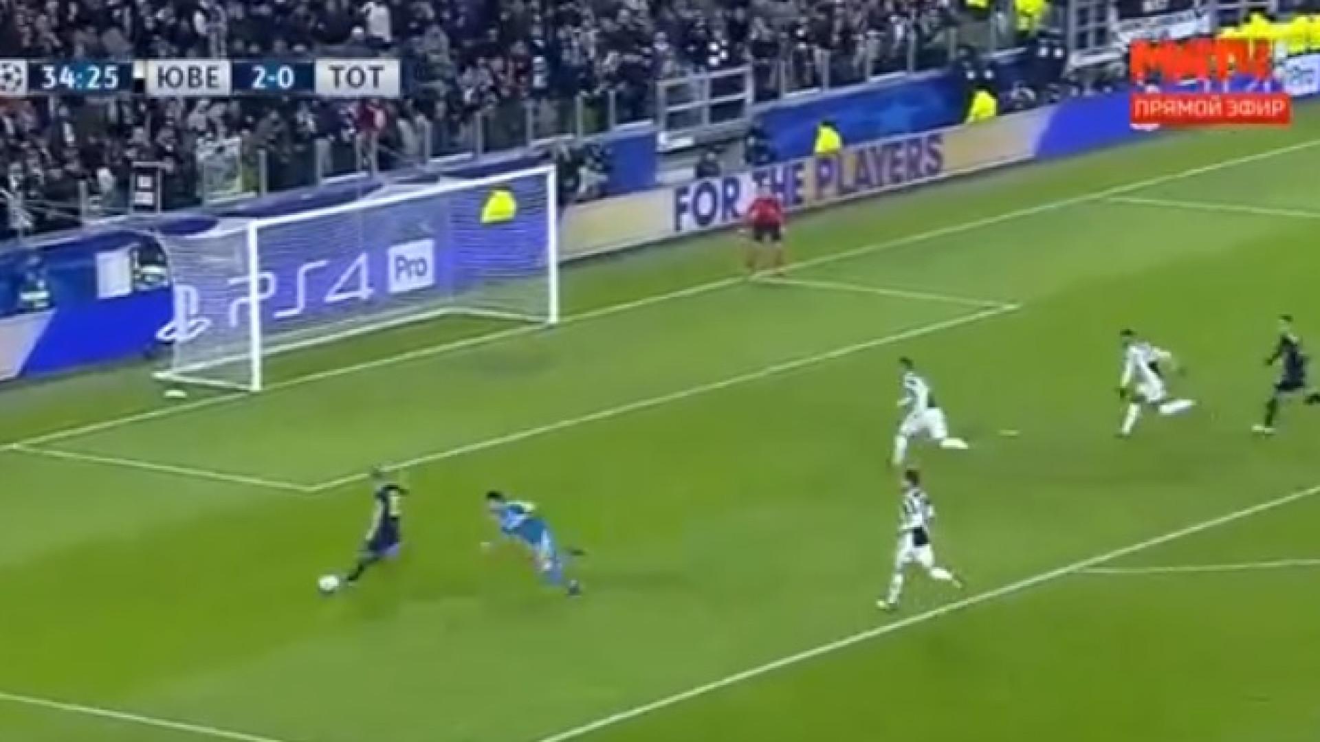 Entendimento entre Dele Alli e Kane termina em golo do Tottenham